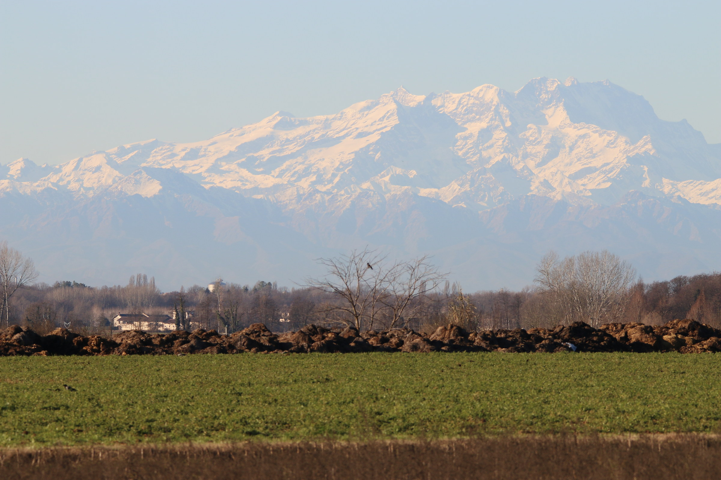 the plains and the mountains...