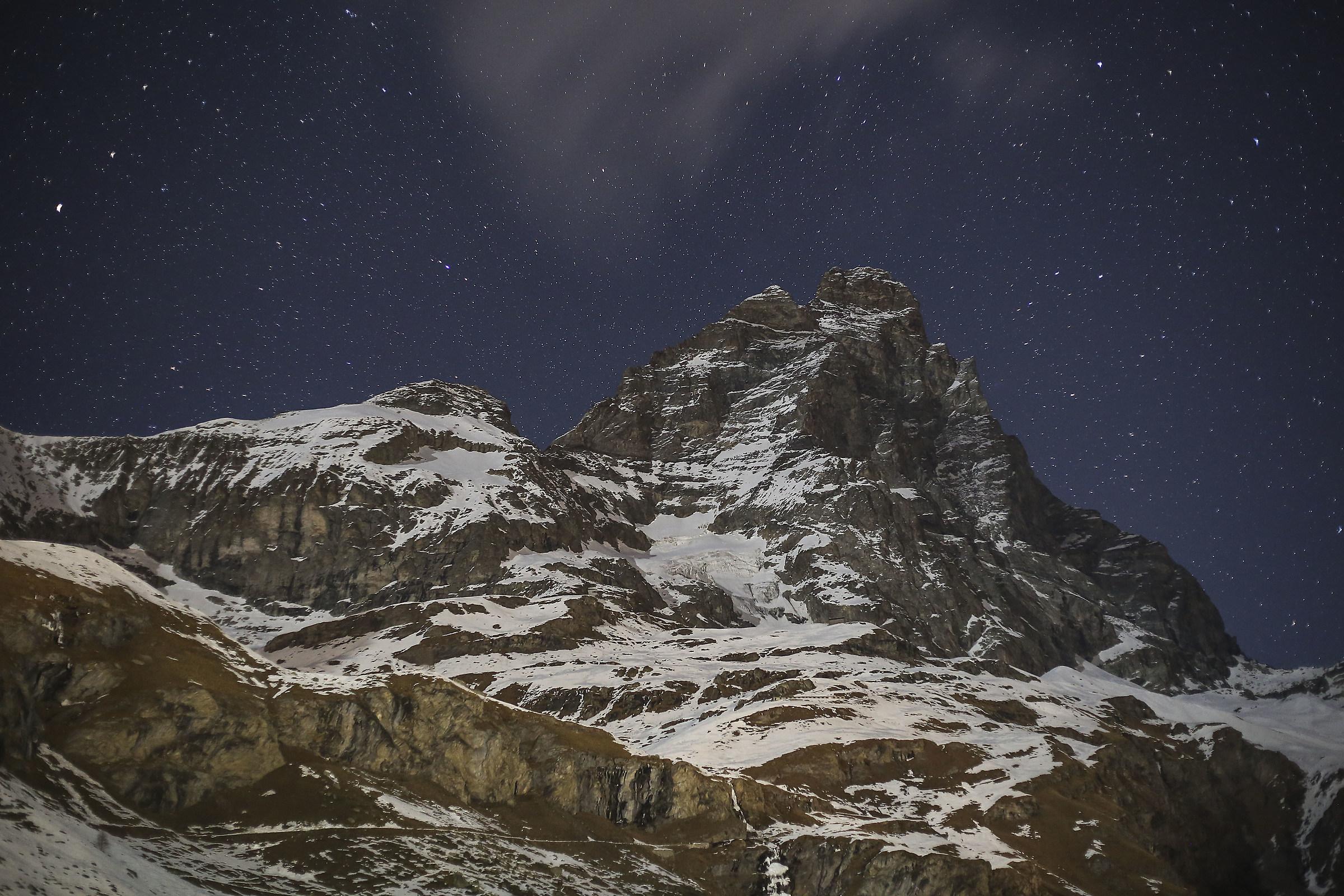 The night Matterhorn....