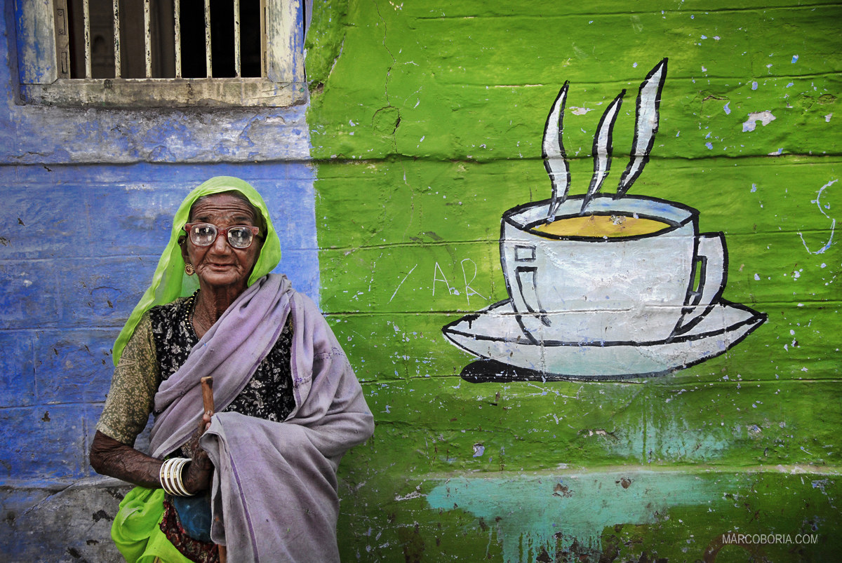 tea time - Rajasthan in 1990...