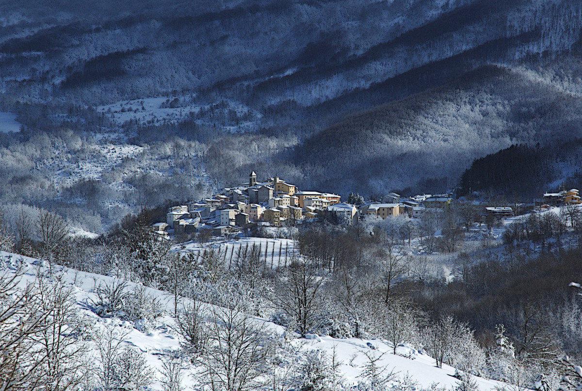 Val di Sangro Castel del Giudice - January 6, 2017...