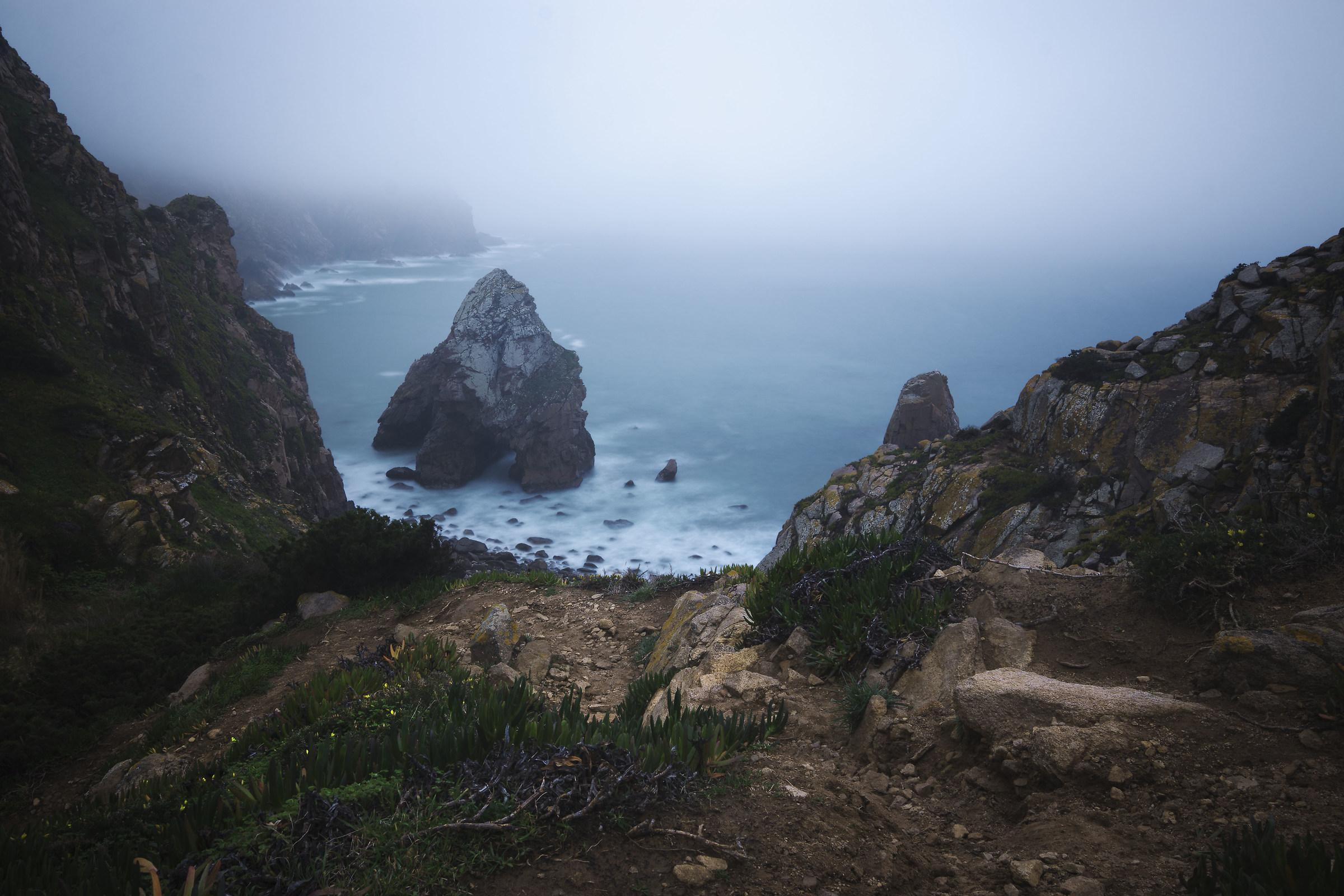 Cabo da Roca and the Atlantic Ocean...