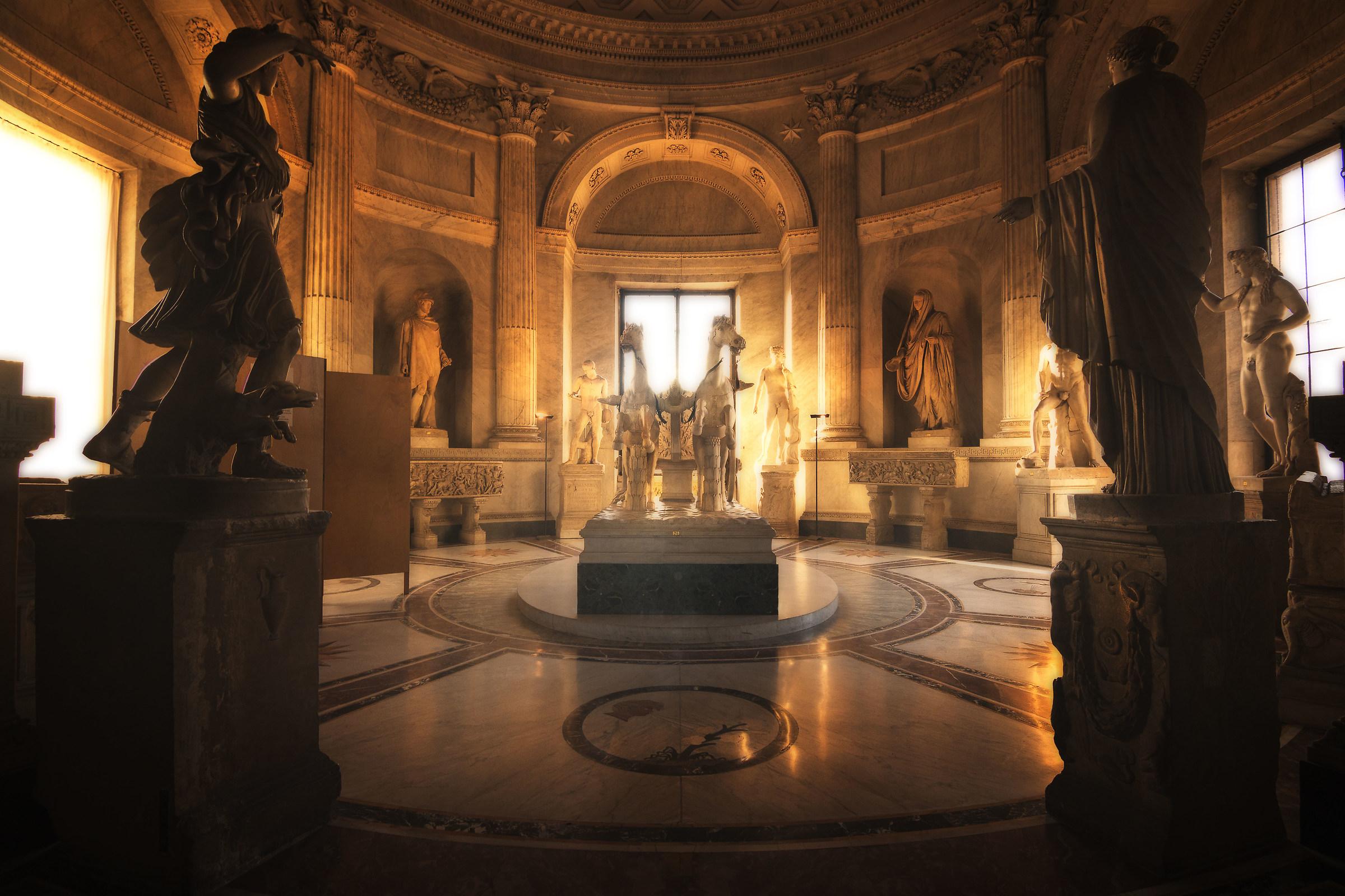 Vatican museums...