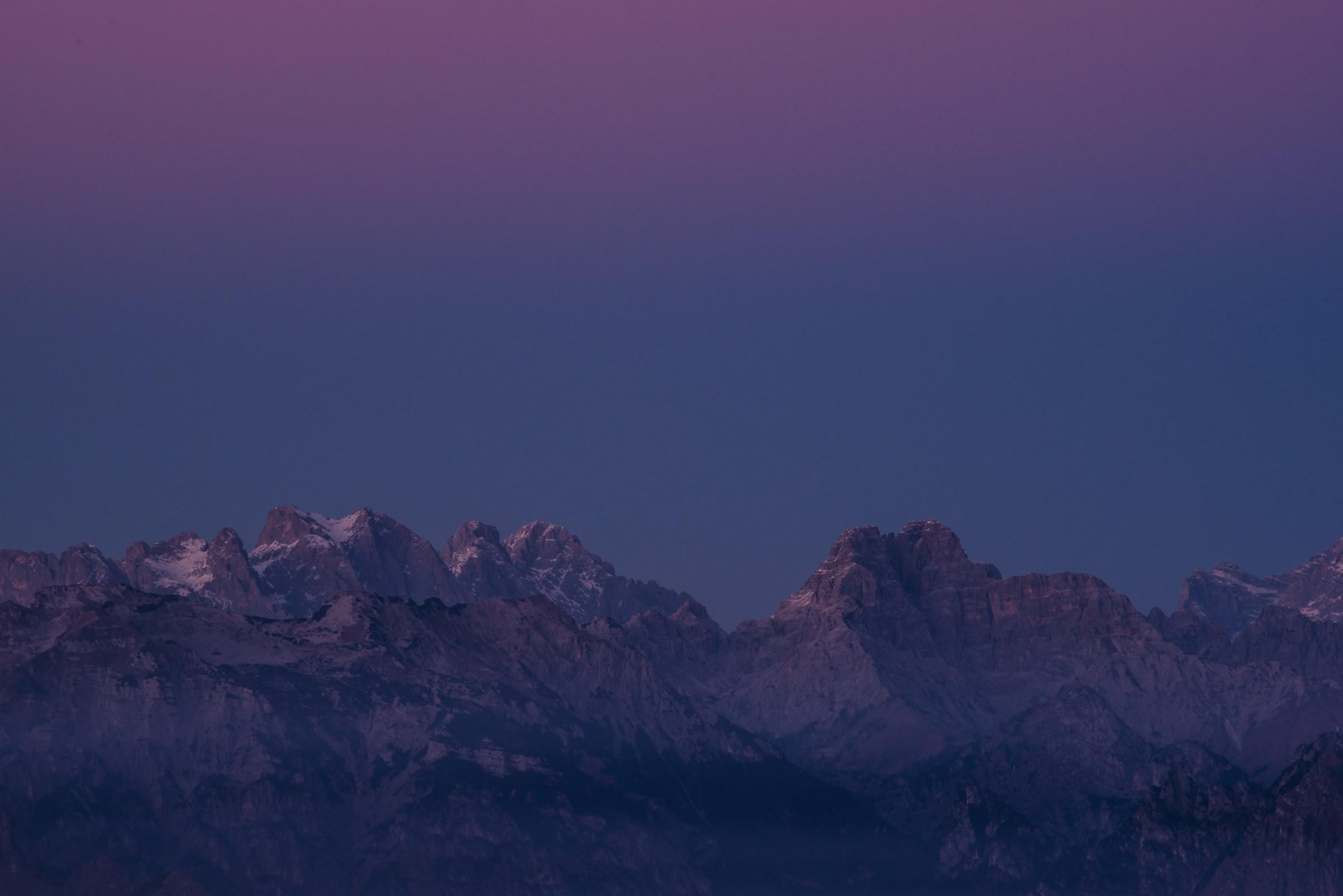 Pale di S.Martino al tramonto...