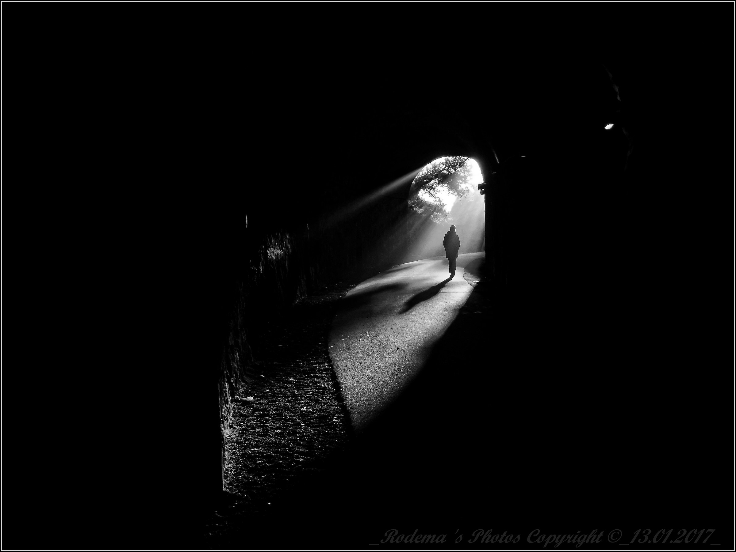 Toward the light...