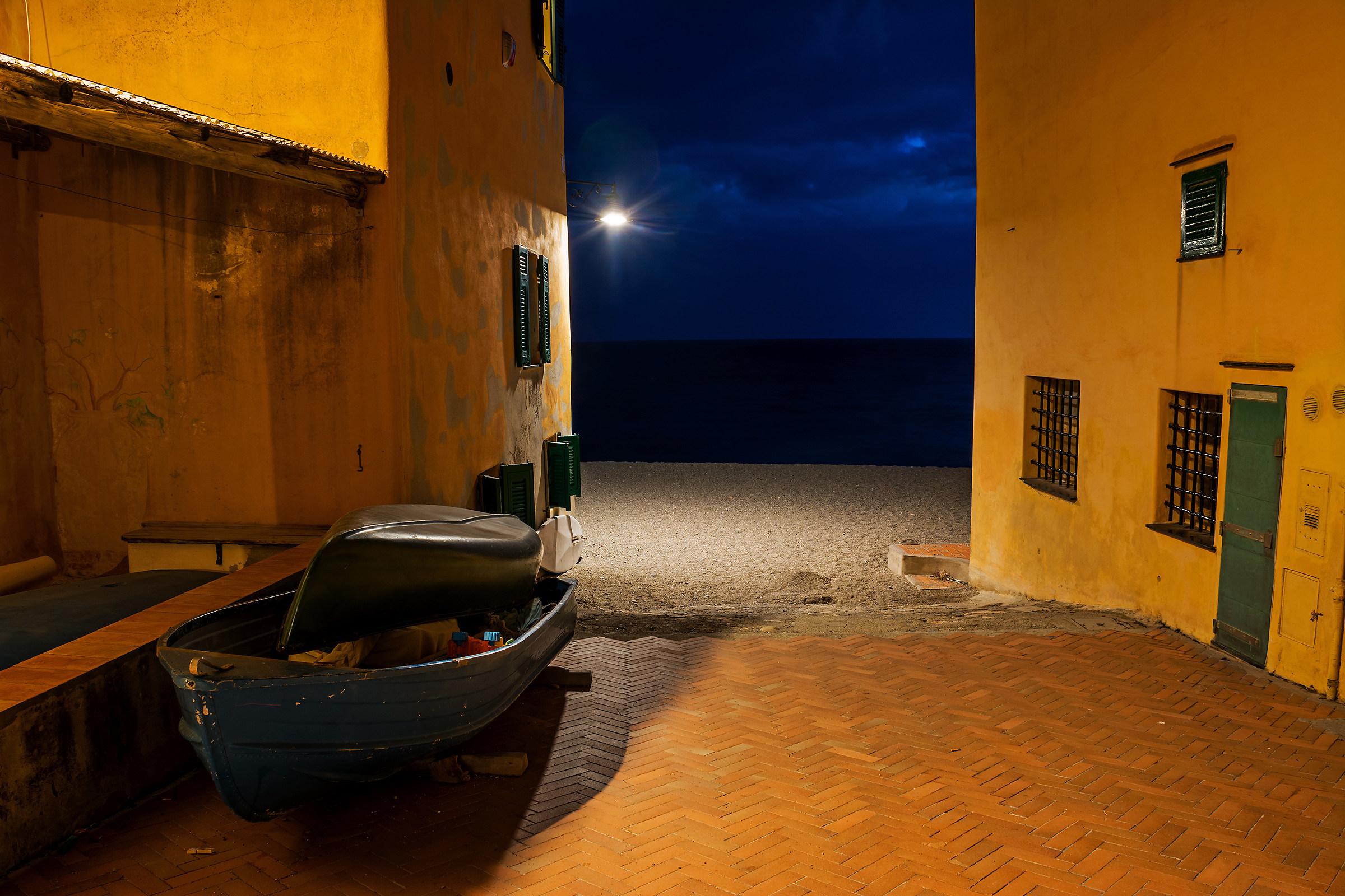 The silence of Varigotti...