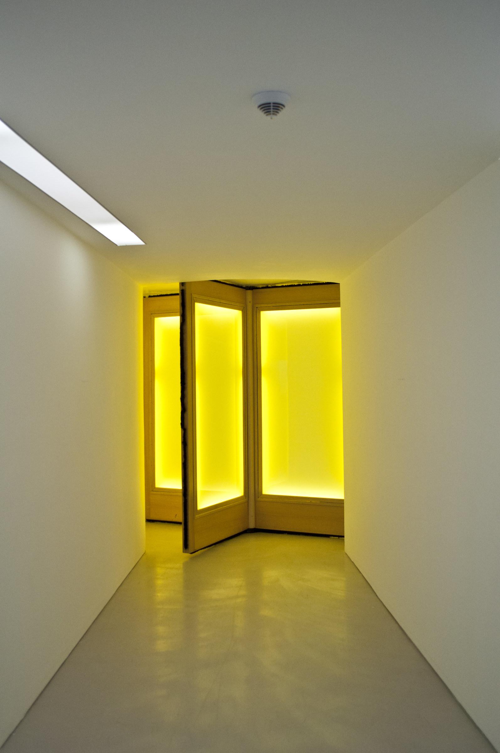 The door...