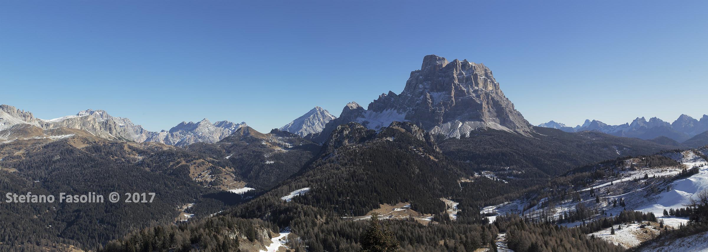 Overview Pelmo...