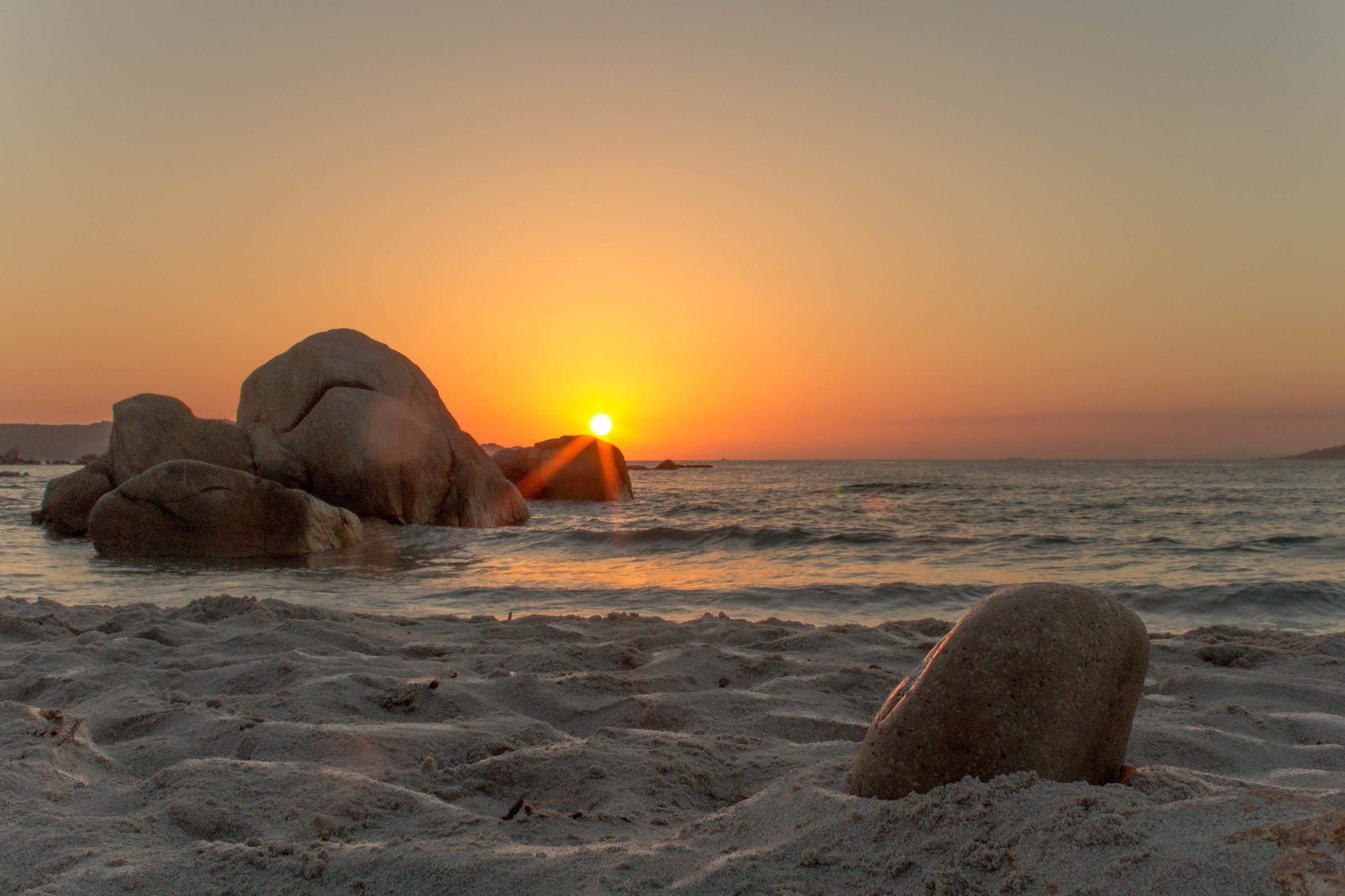 Sunset on Bassa Trinita...
