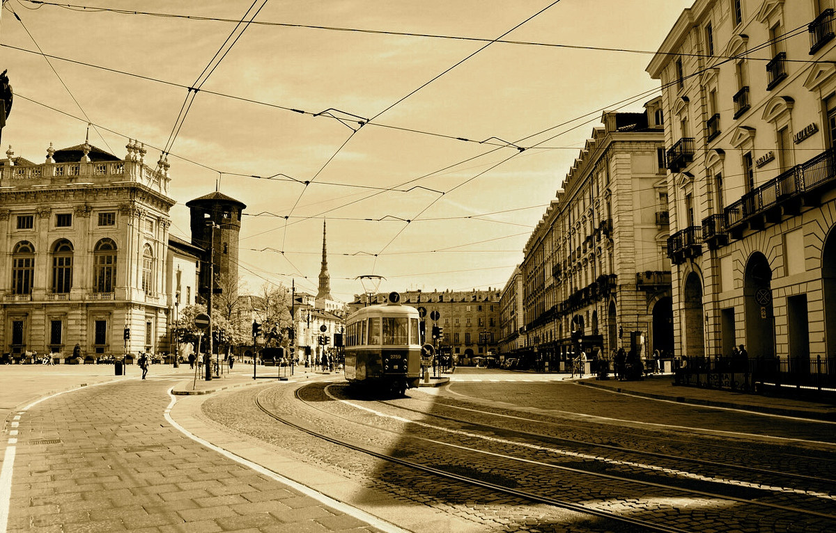 The old tram...
