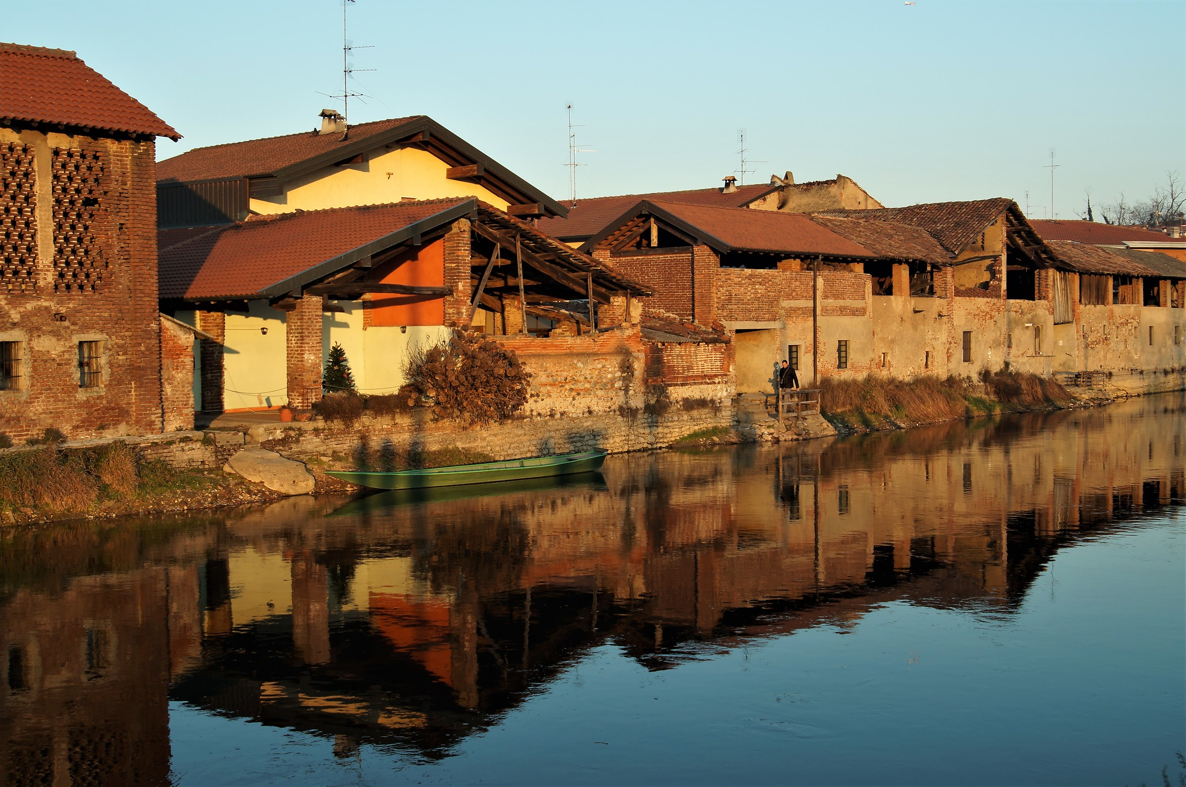 New Year's Eve on the Naviglio in Bernate...
