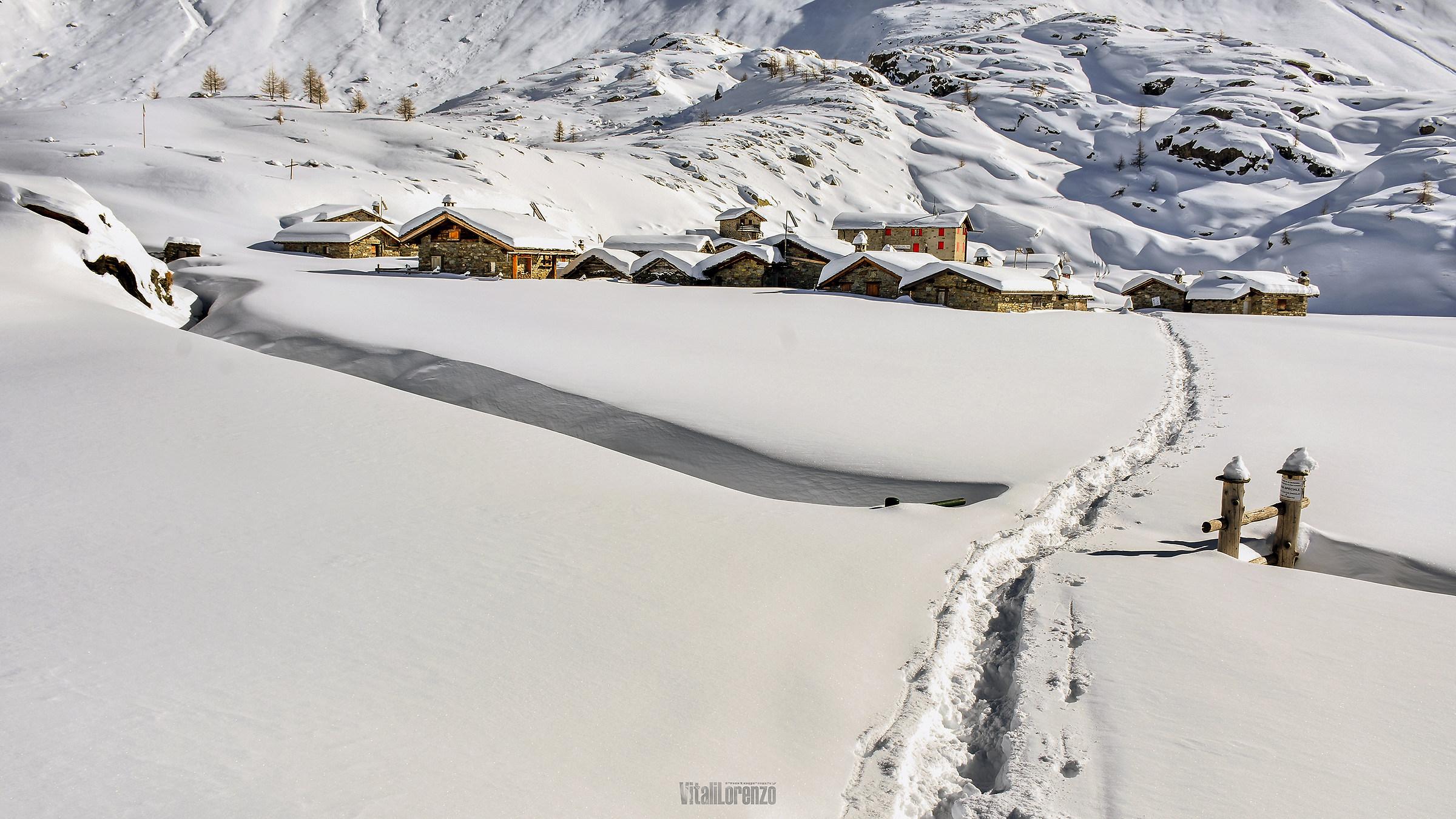 Alpe Prabello in winter...
