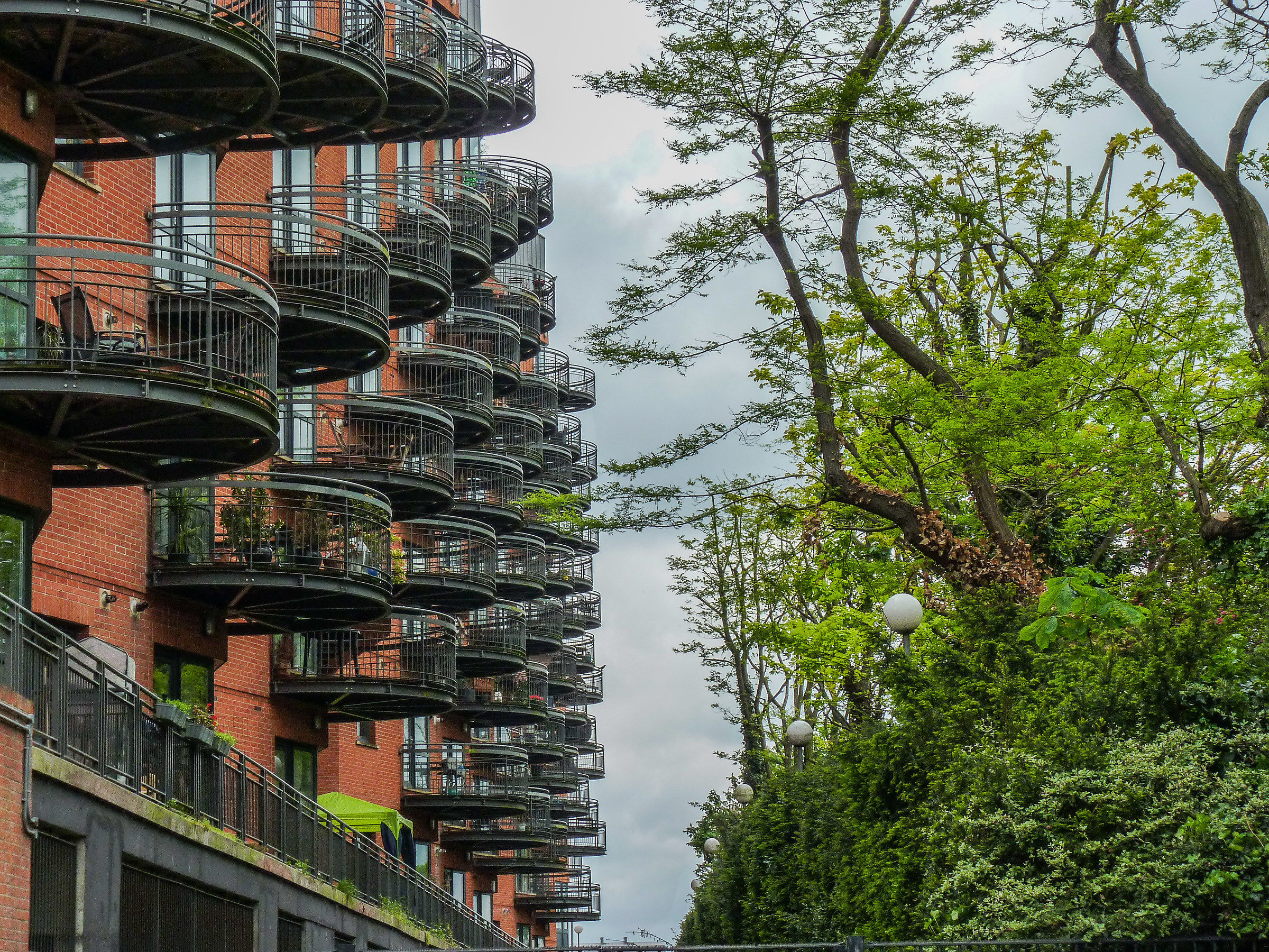 balconies or cages?...