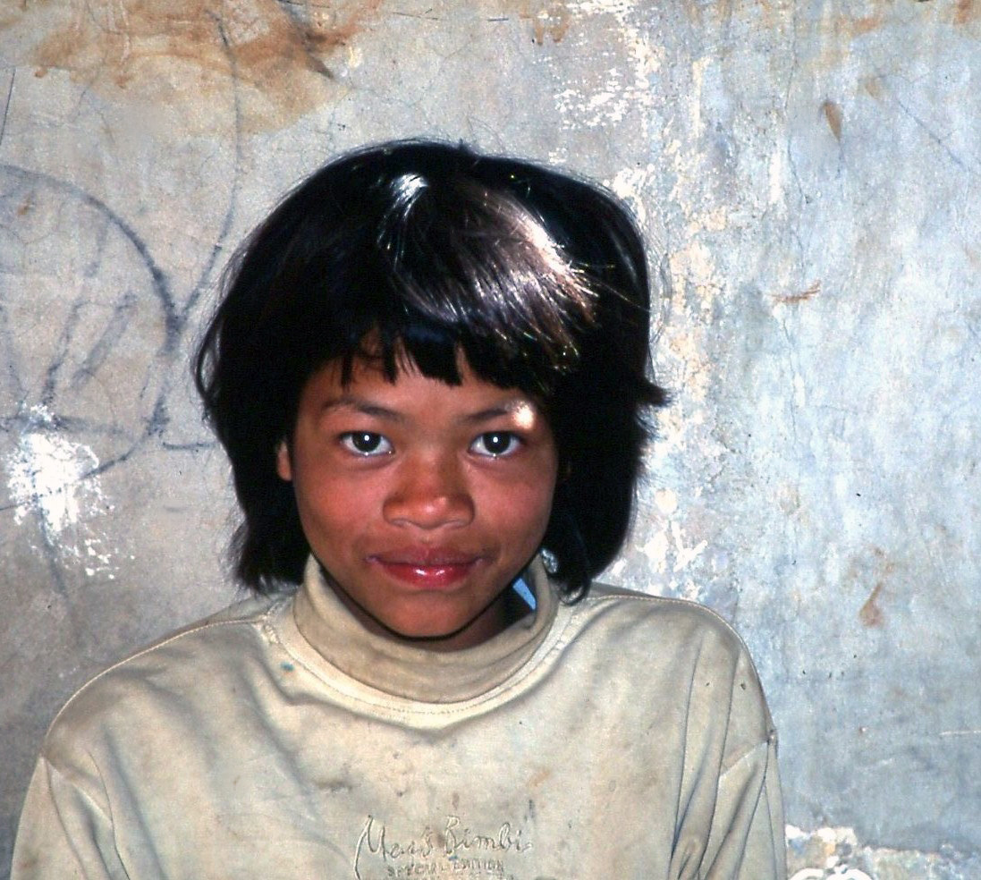 Burmese girl...