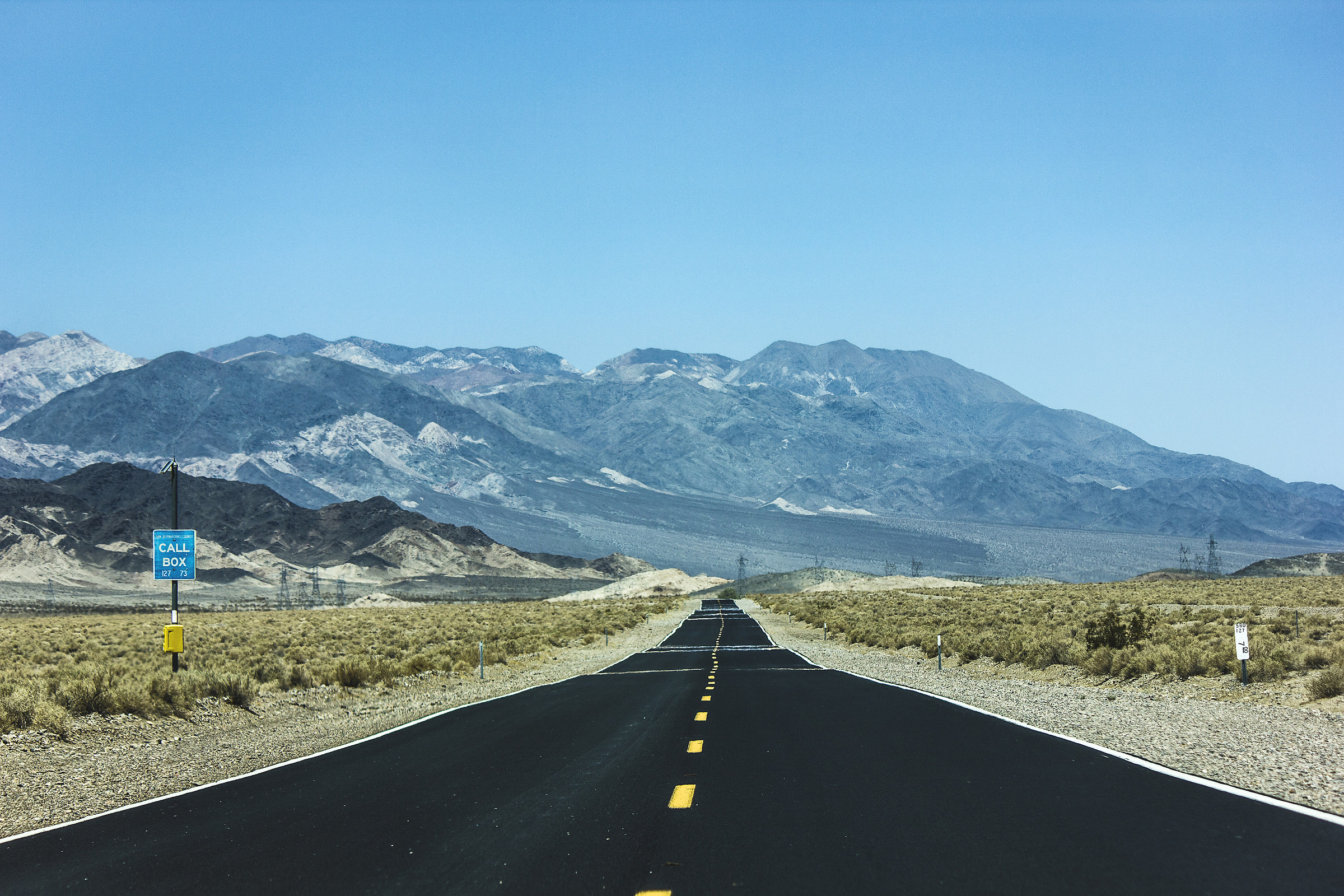 The long way to the Death Valley....