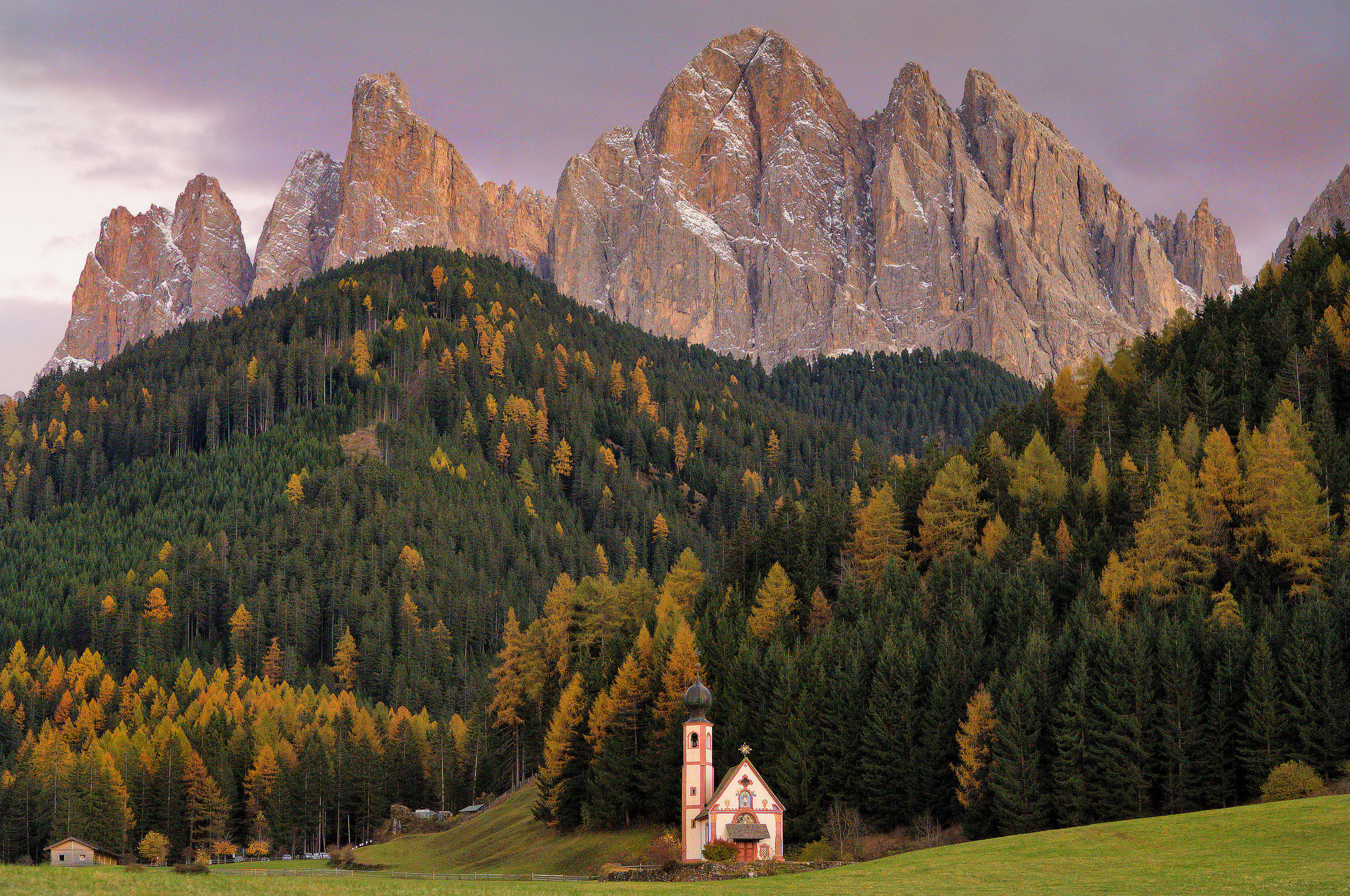 """Glimpse in val di funes""..."