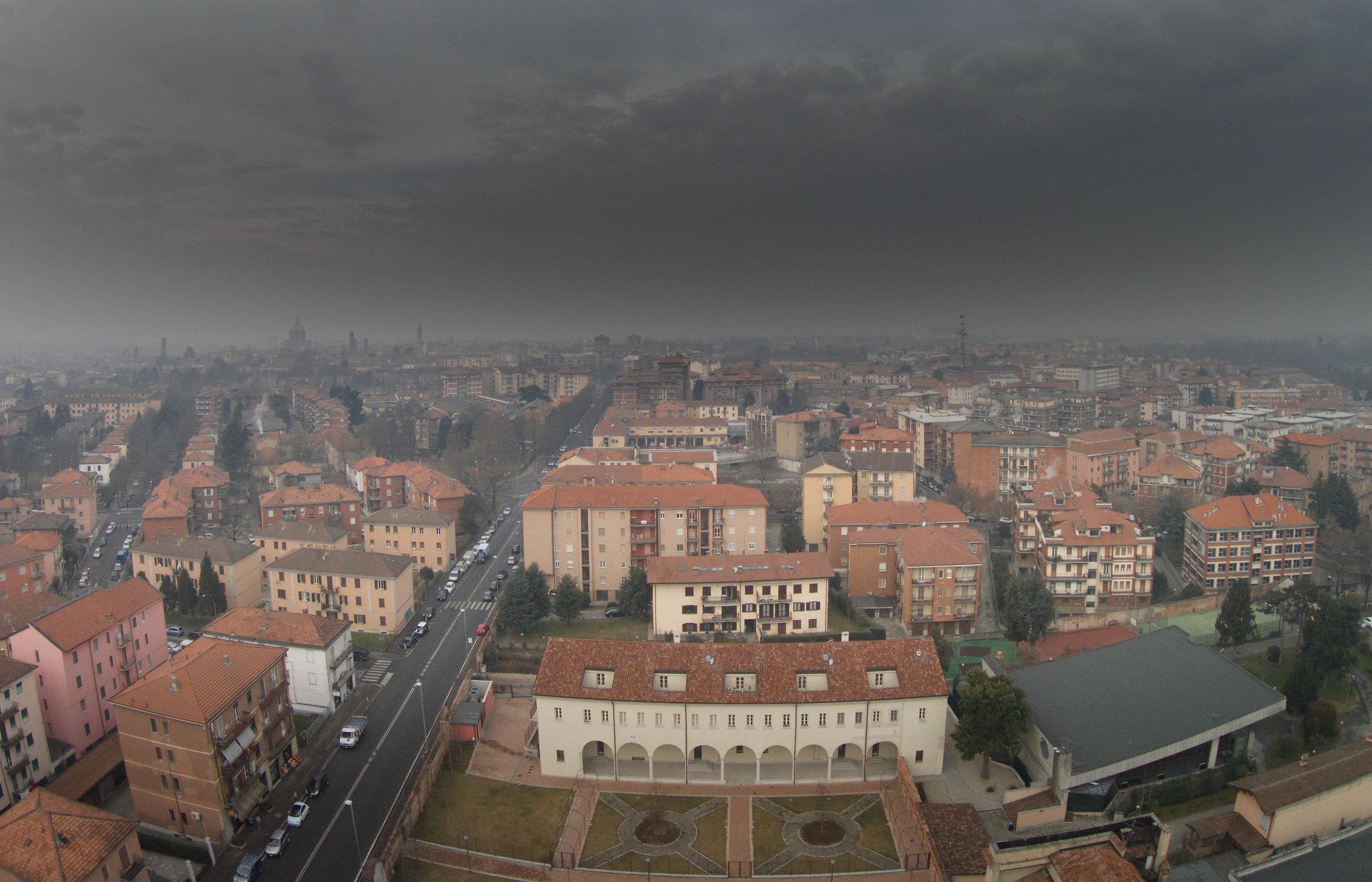 Pavia view from drone...