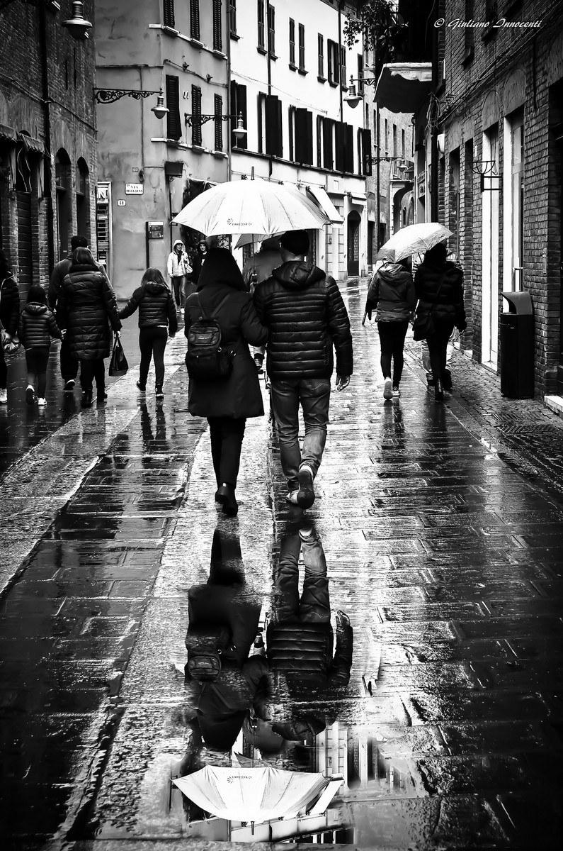 Today it's raining...