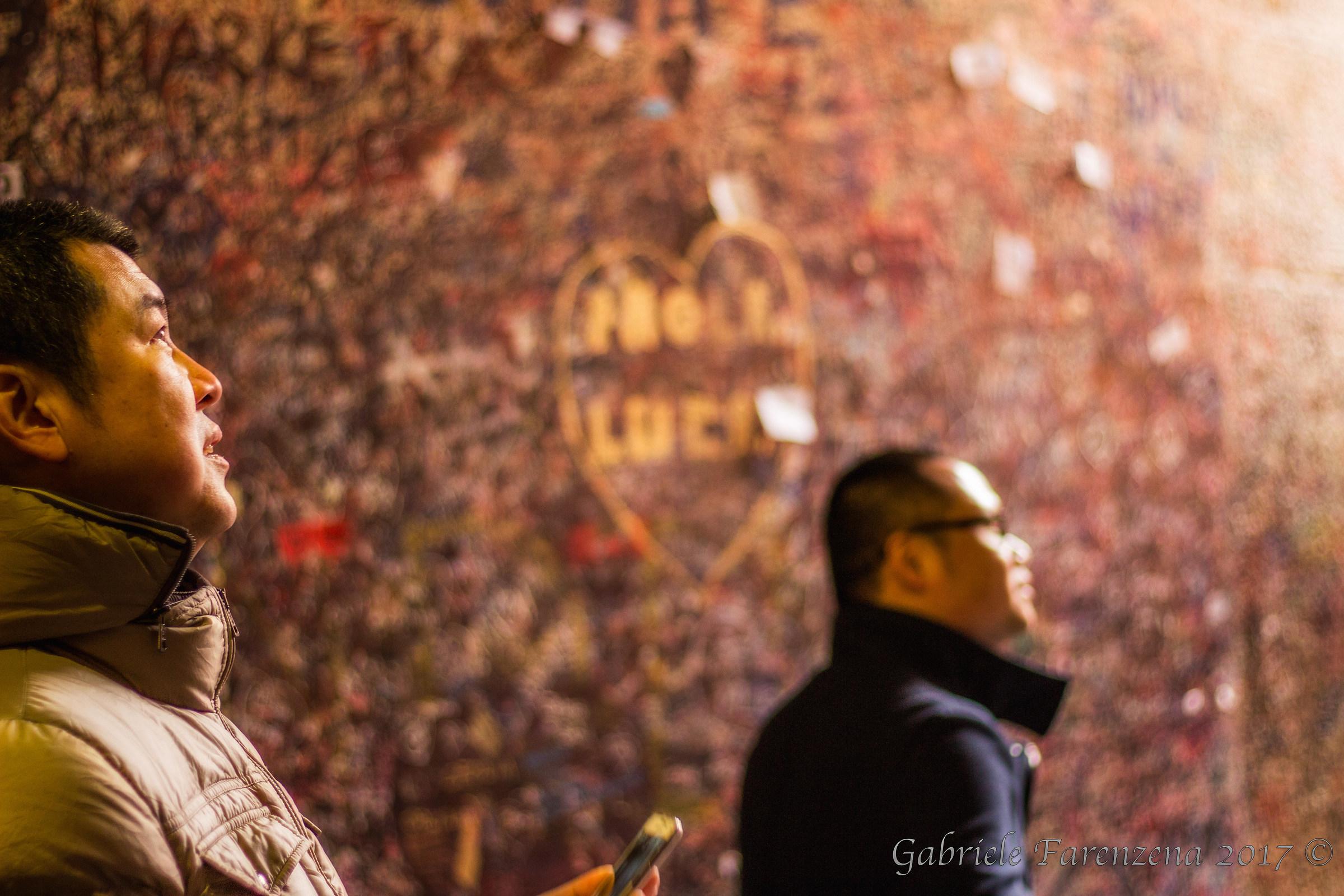 Nel cuore di Verona (Casa di Giulietta)...