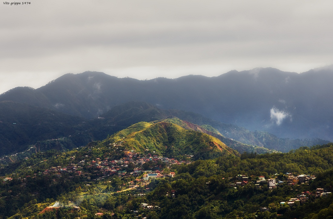 Baguio City The city in the clouds...