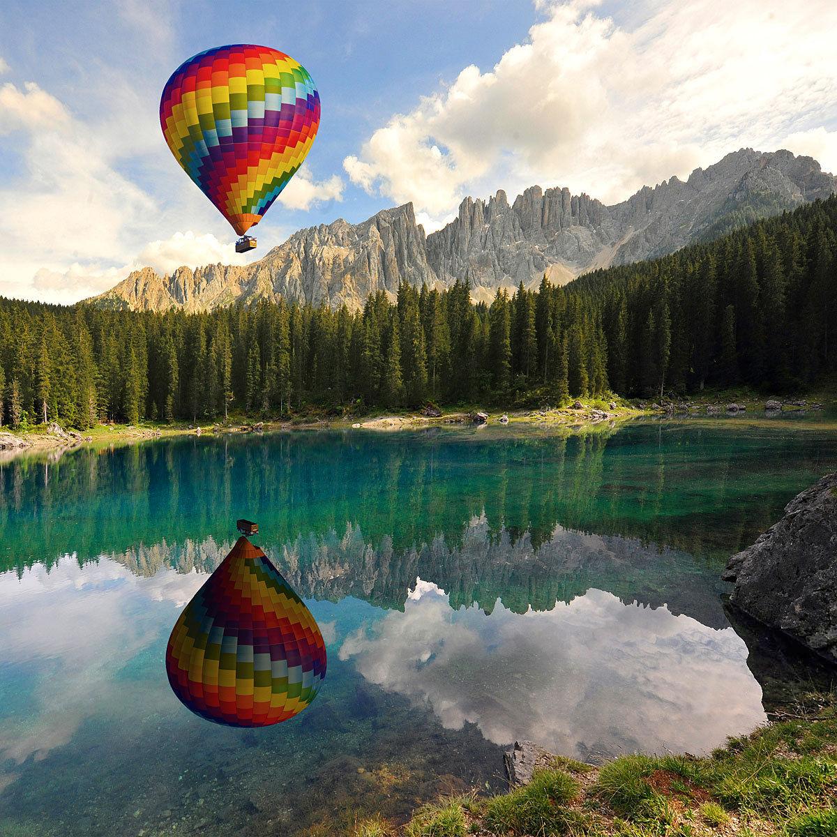 Balloon Lake Carezza...