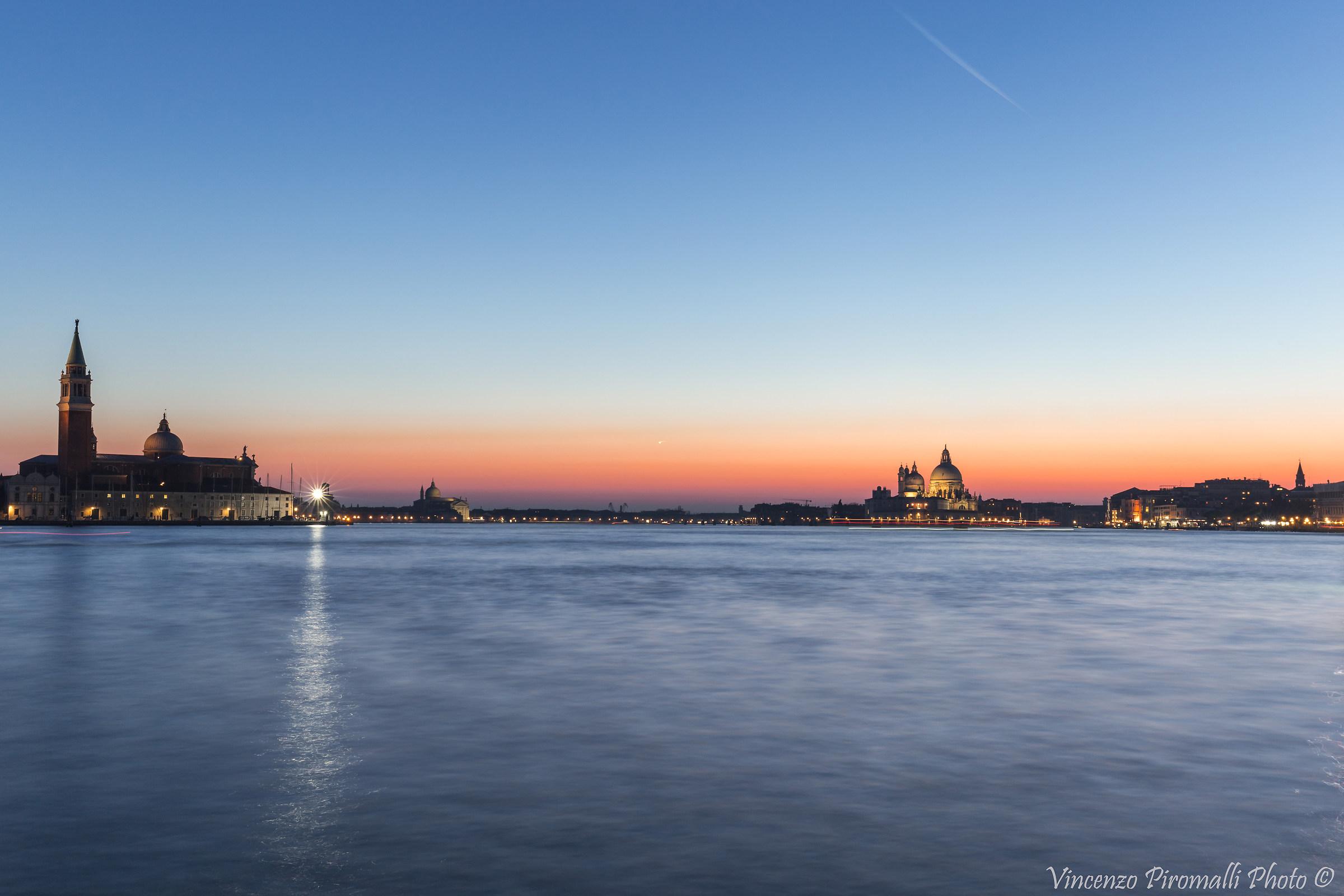 Venice after sunset...
