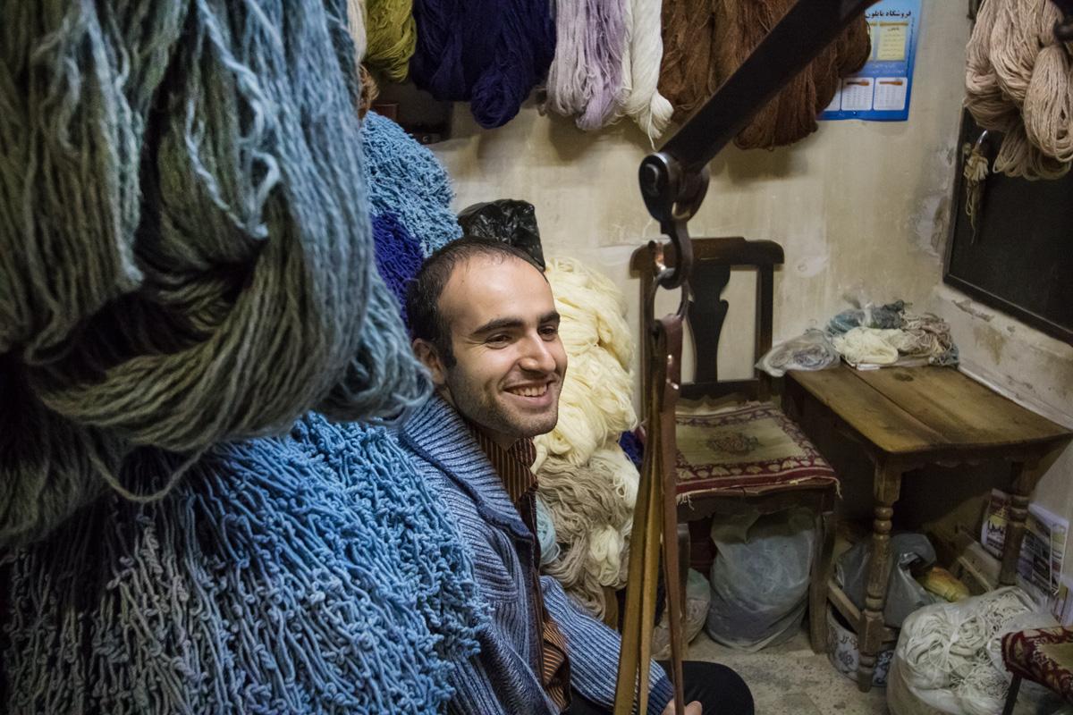 Venditire di lana...
