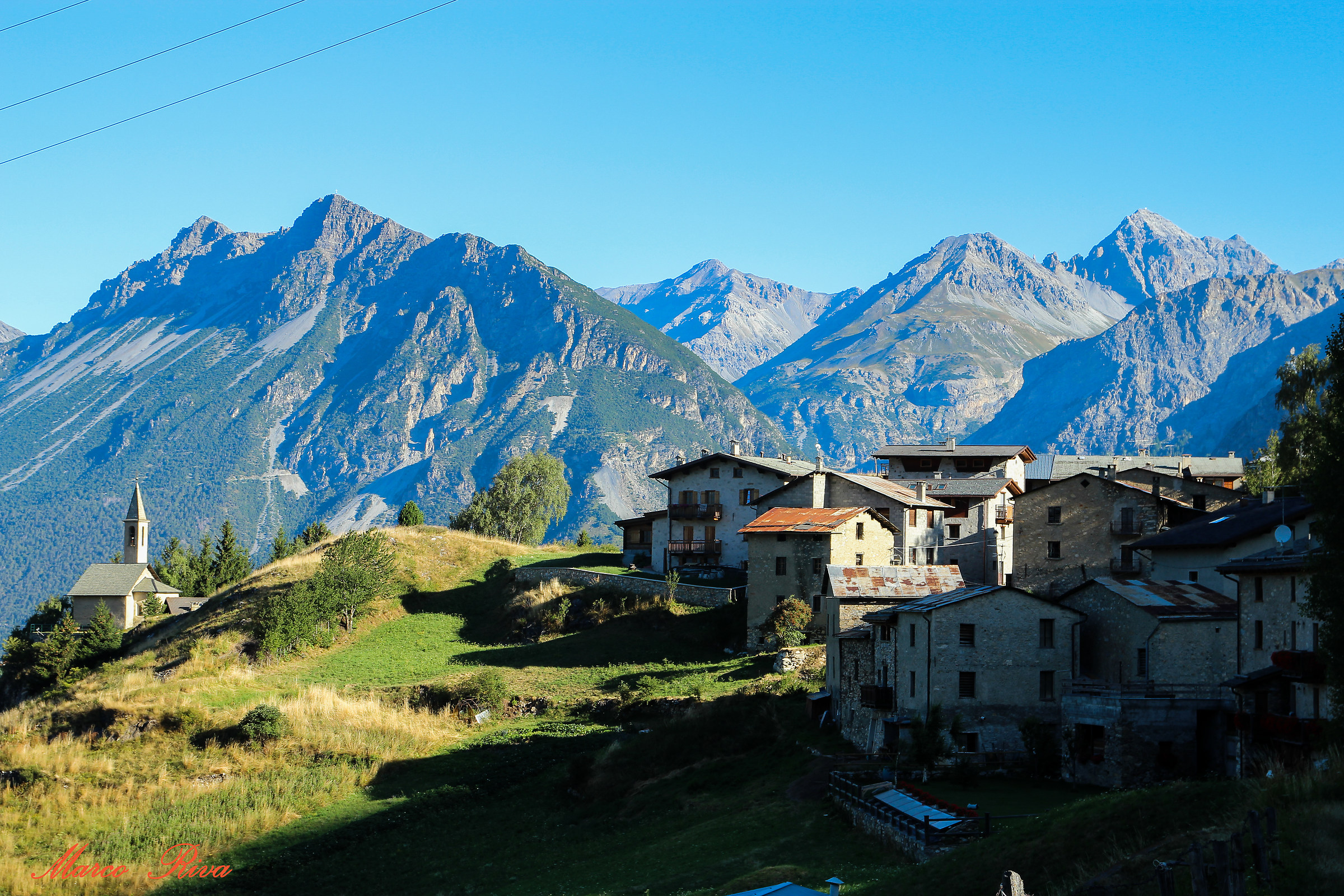 alpine country...