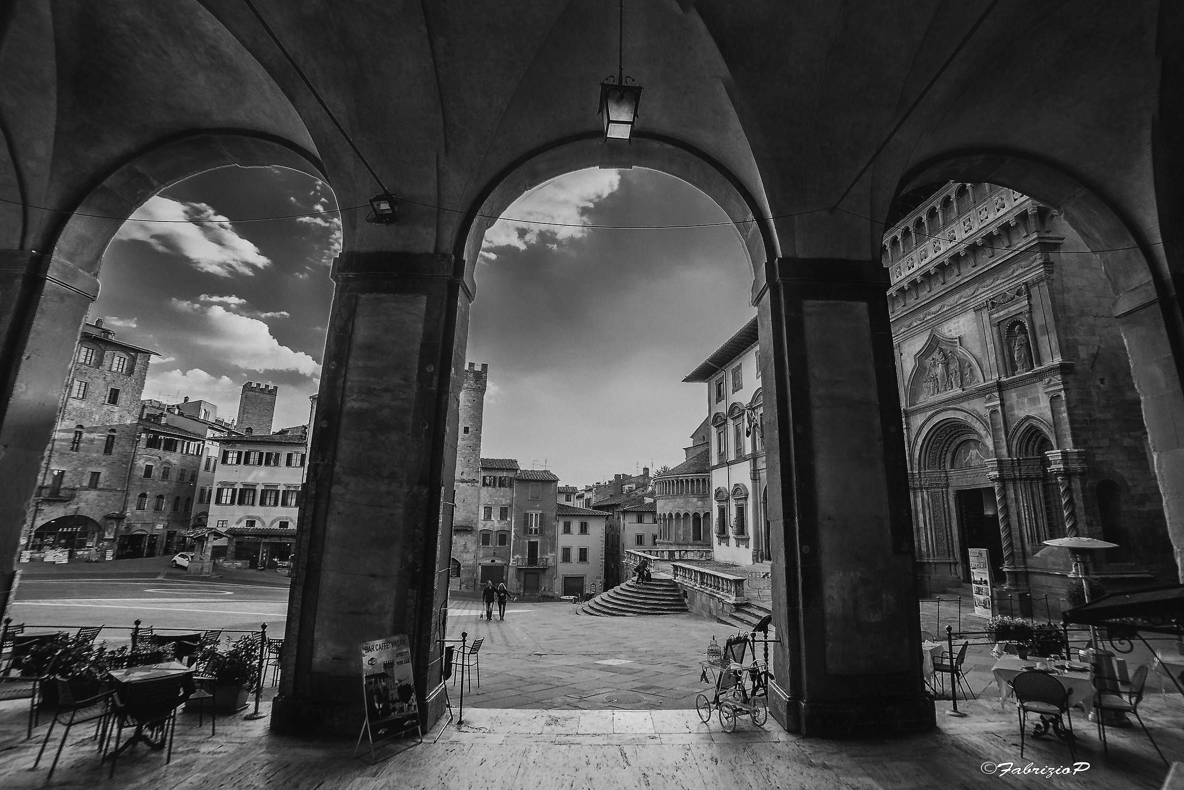 Piazza Grande - Arezzo...