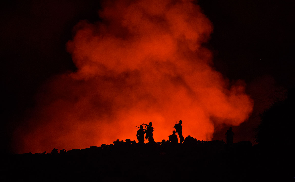Erta Ale volcano Danakil...