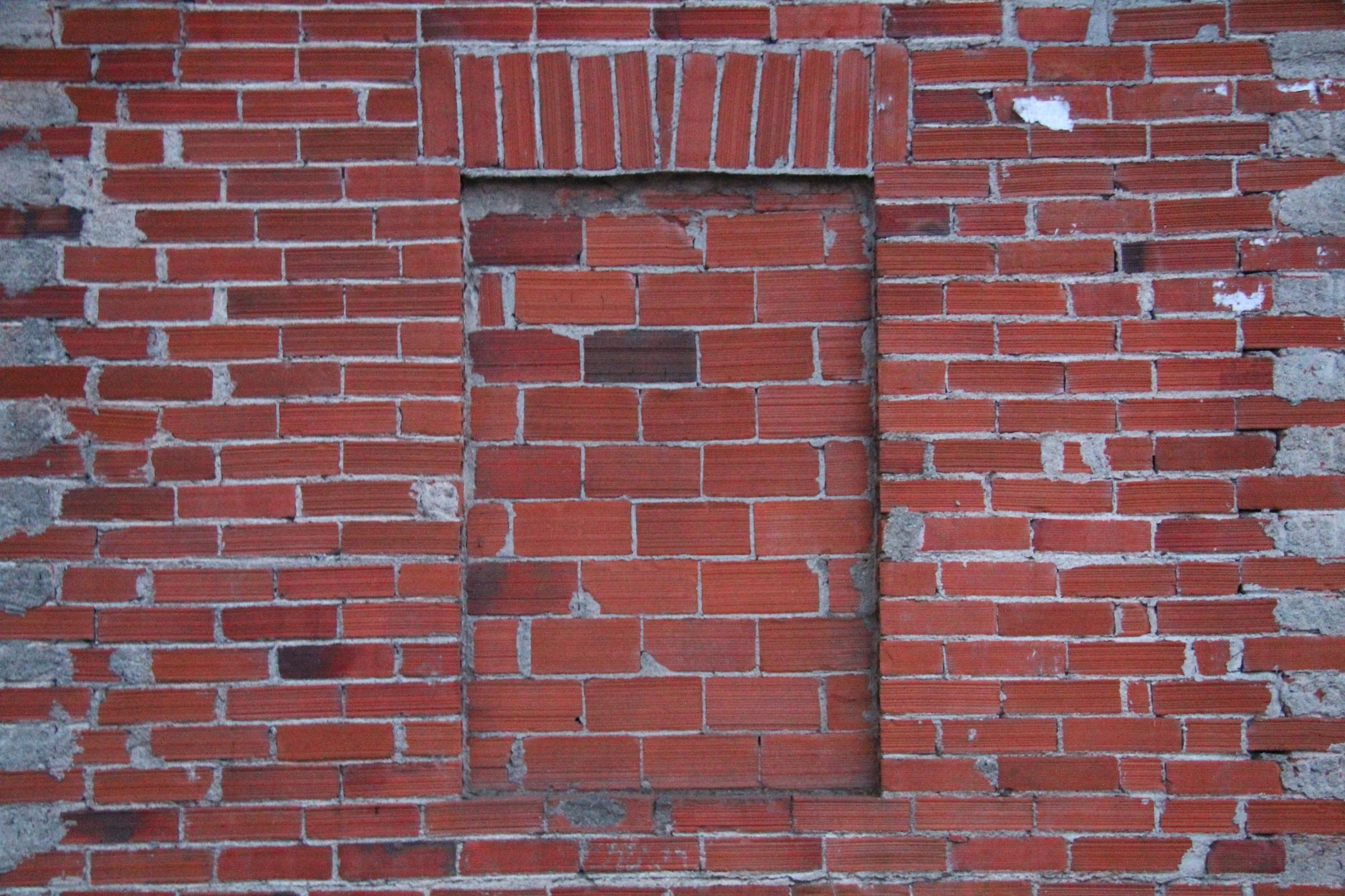 Clausura, finestra murata...
