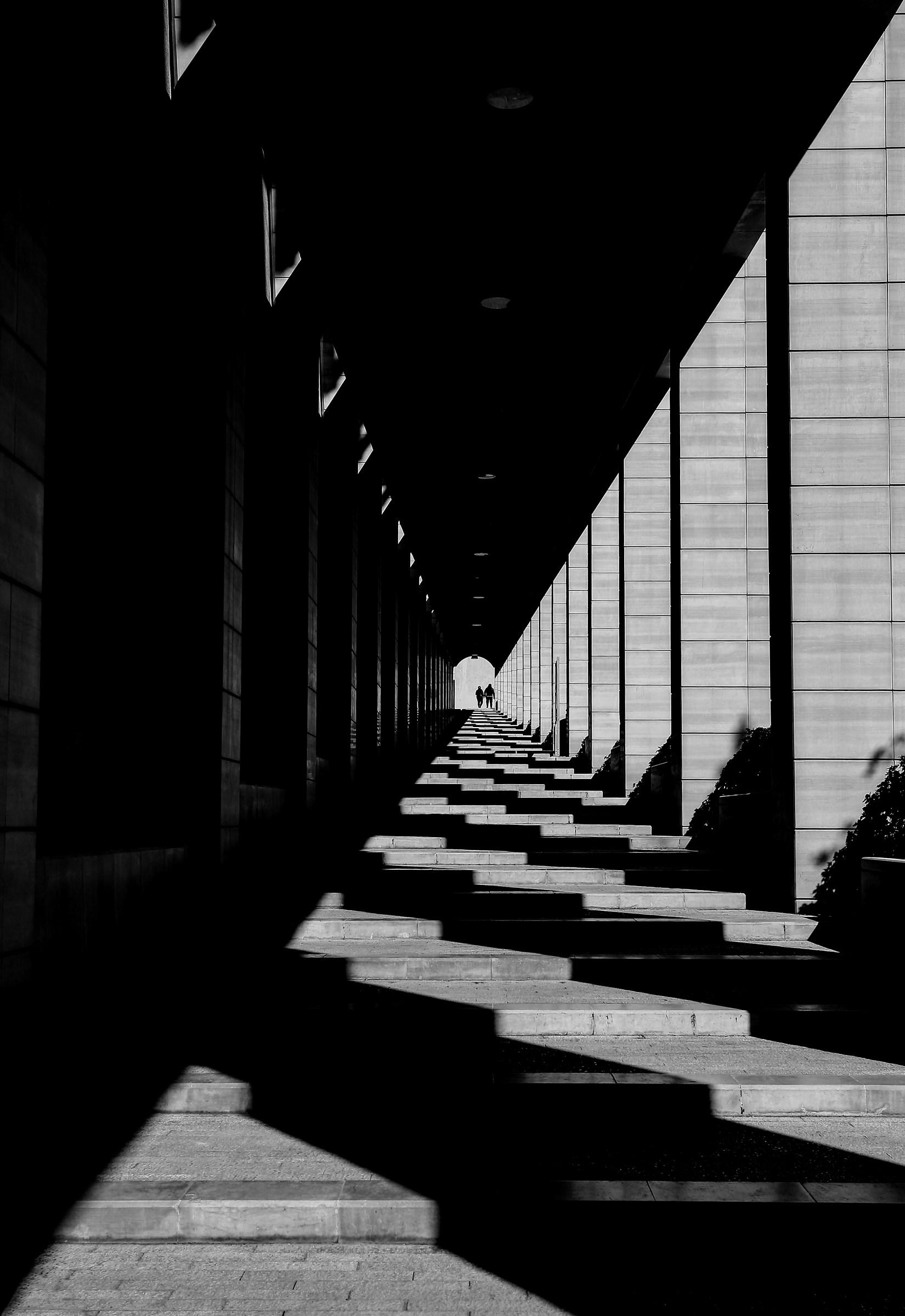 Camminare verso la luce...