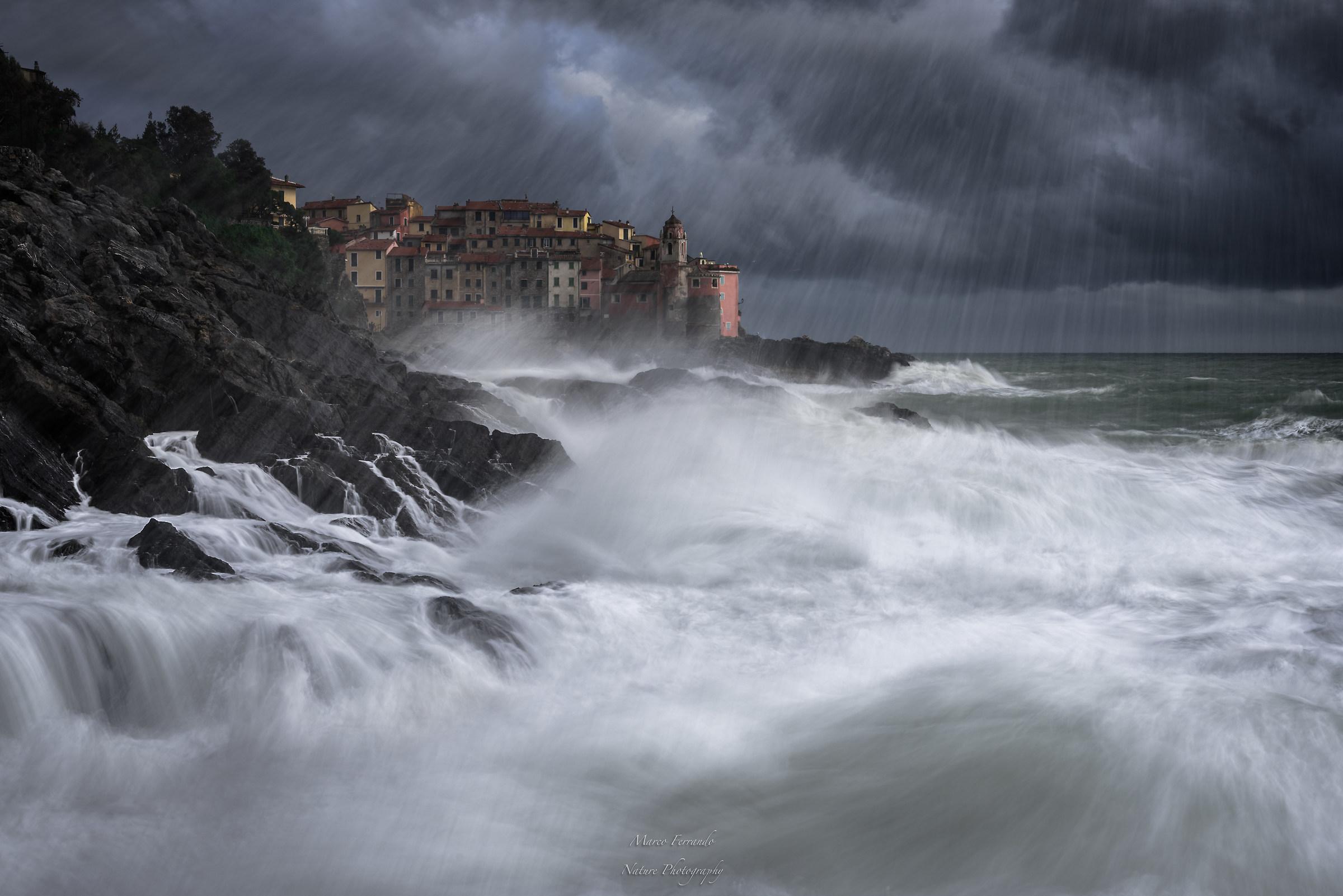 Tellaro stormy...