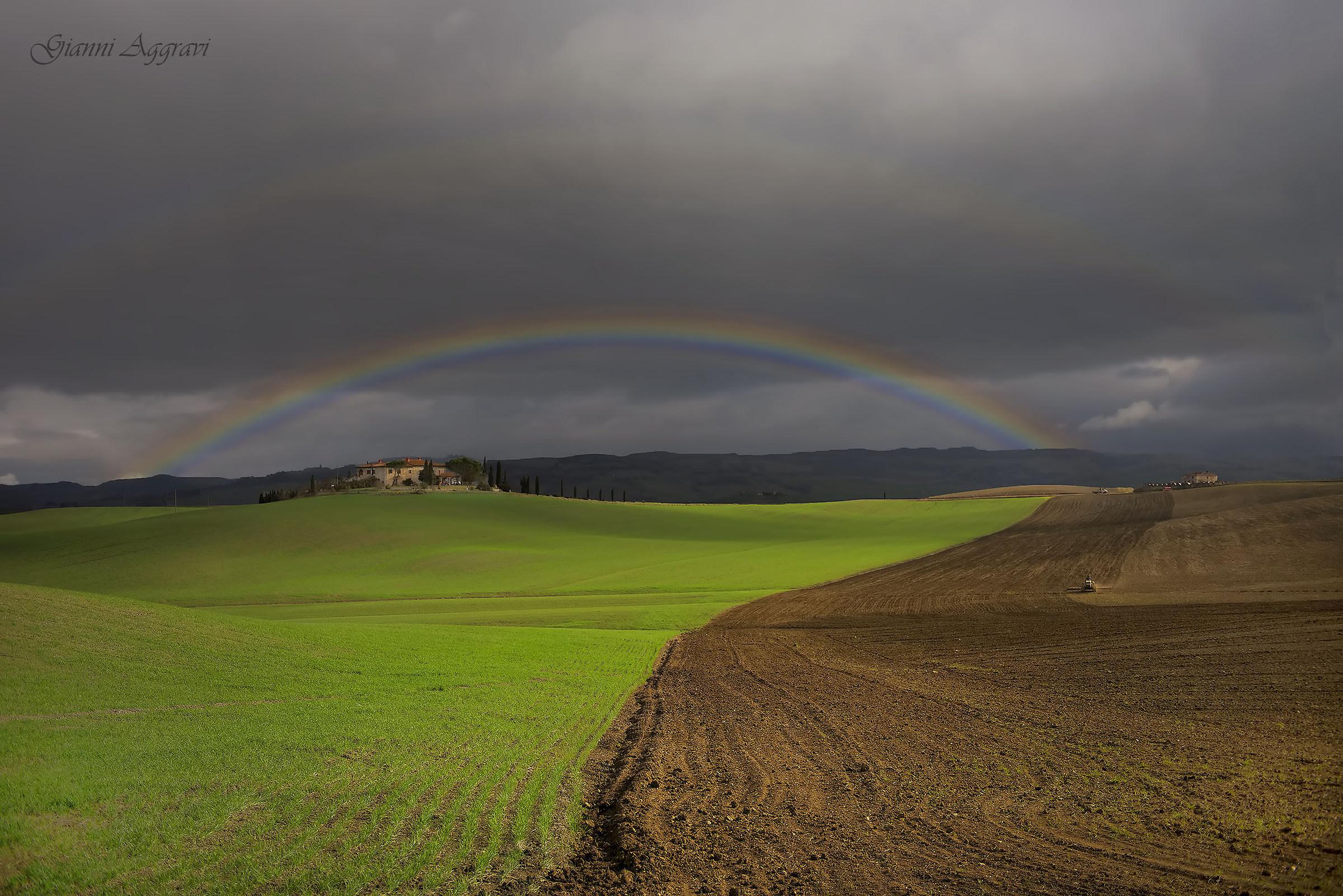 Working under the Rainbow...