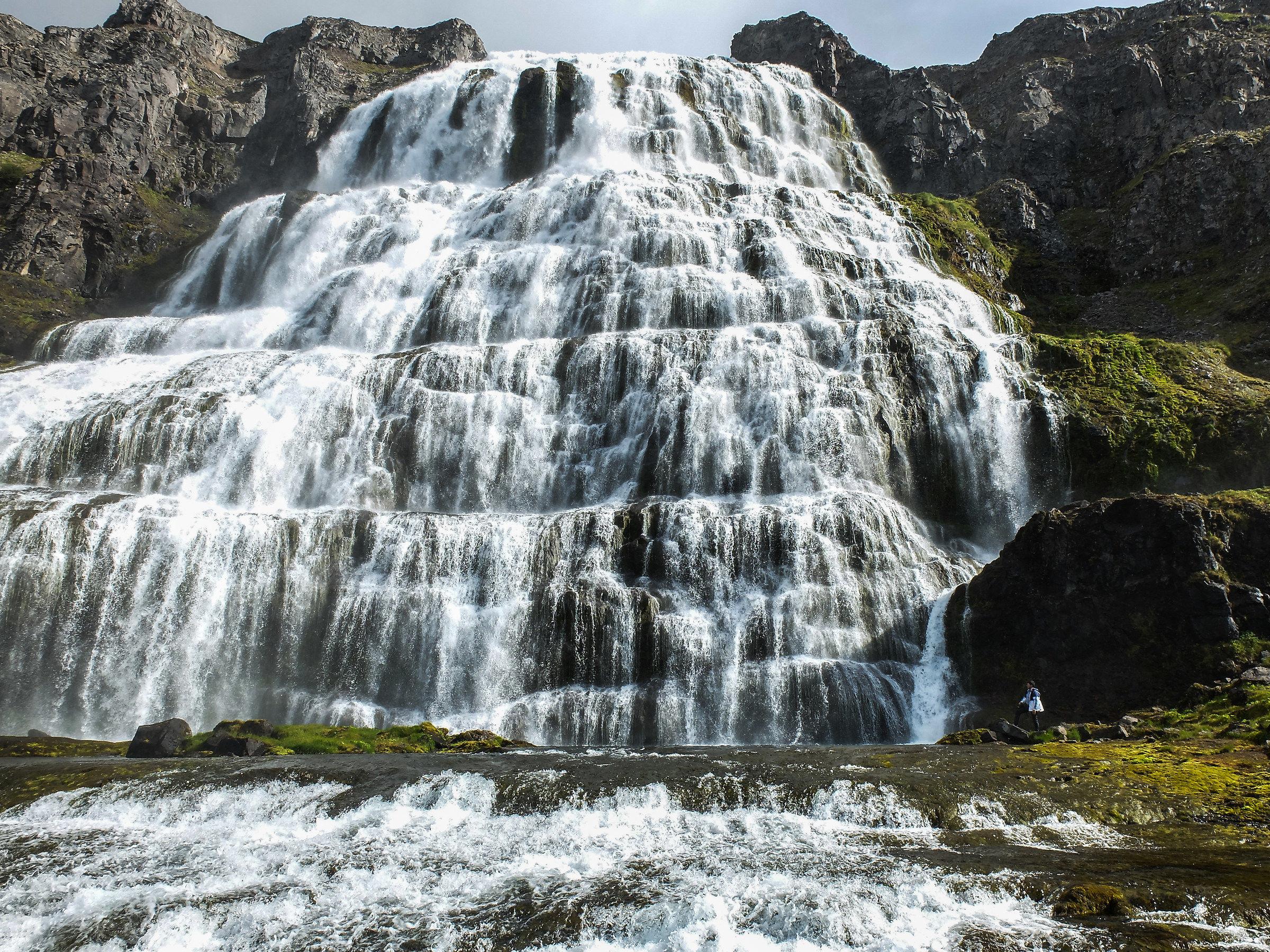Dyjandi waterfall...