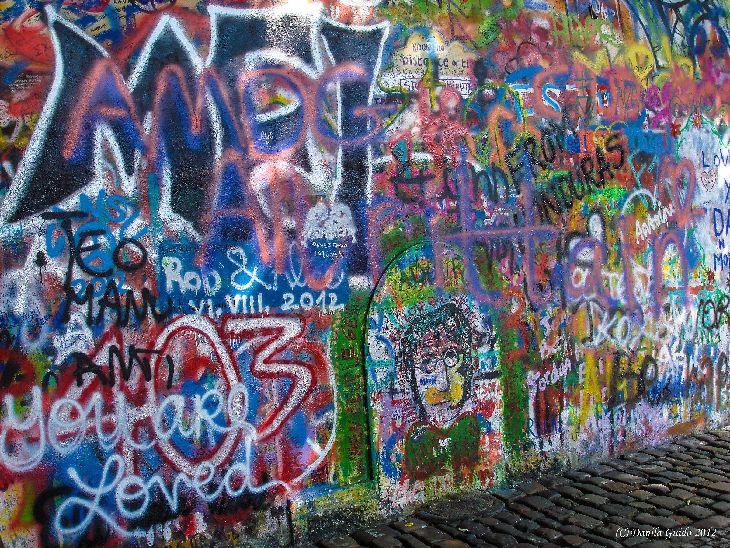 John Lennon wall - Prague...