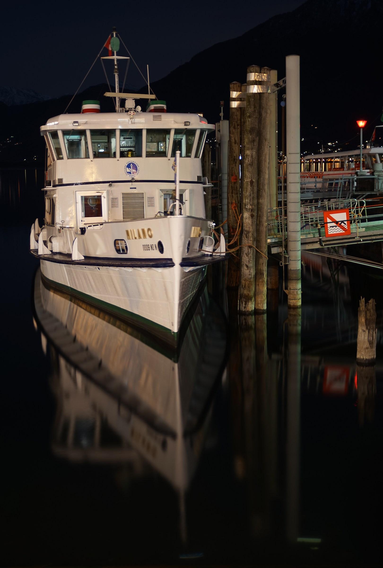 """Boat """"Milan"""" / Locarno CH..."""