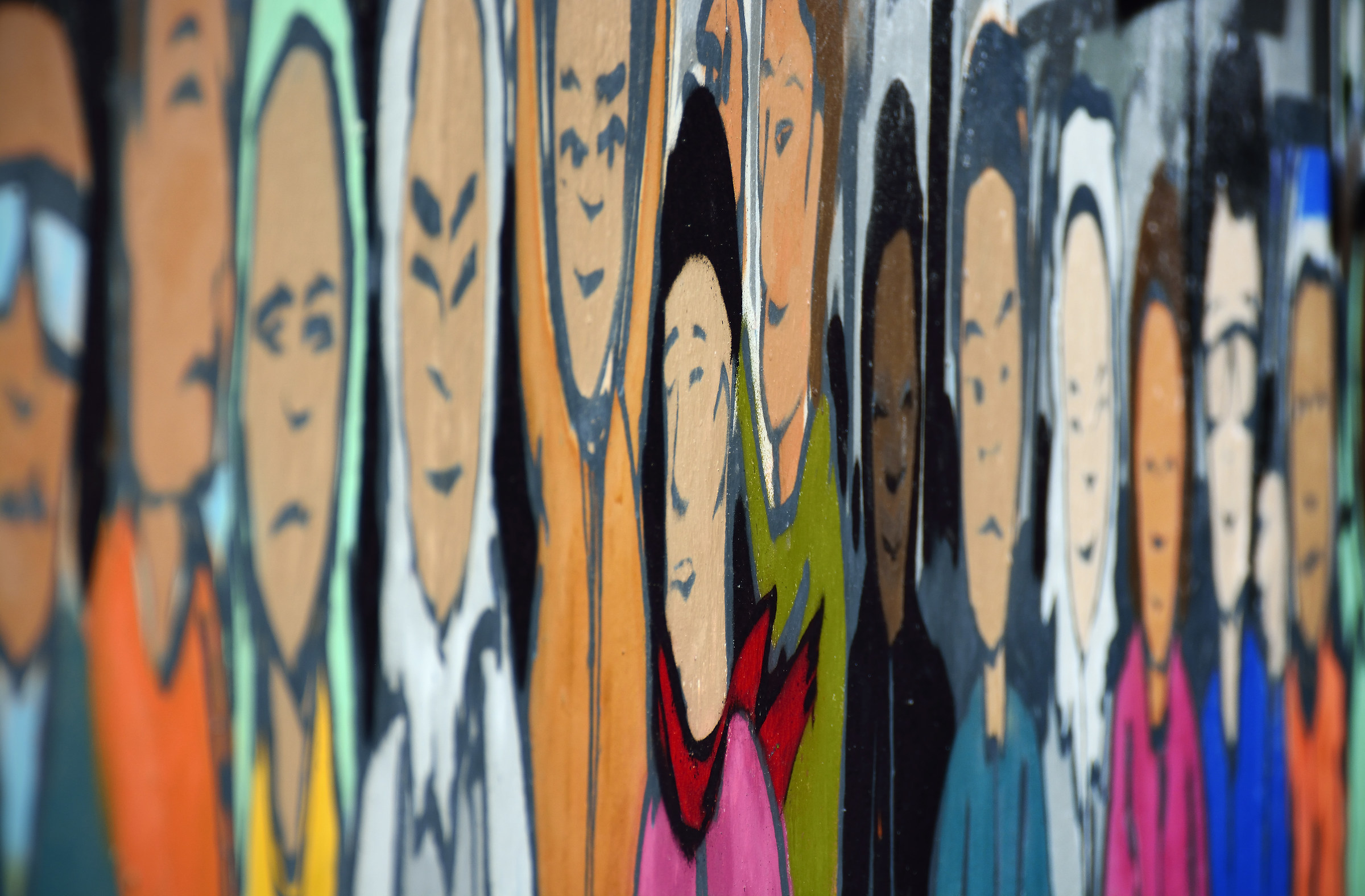 Faces on a Board...