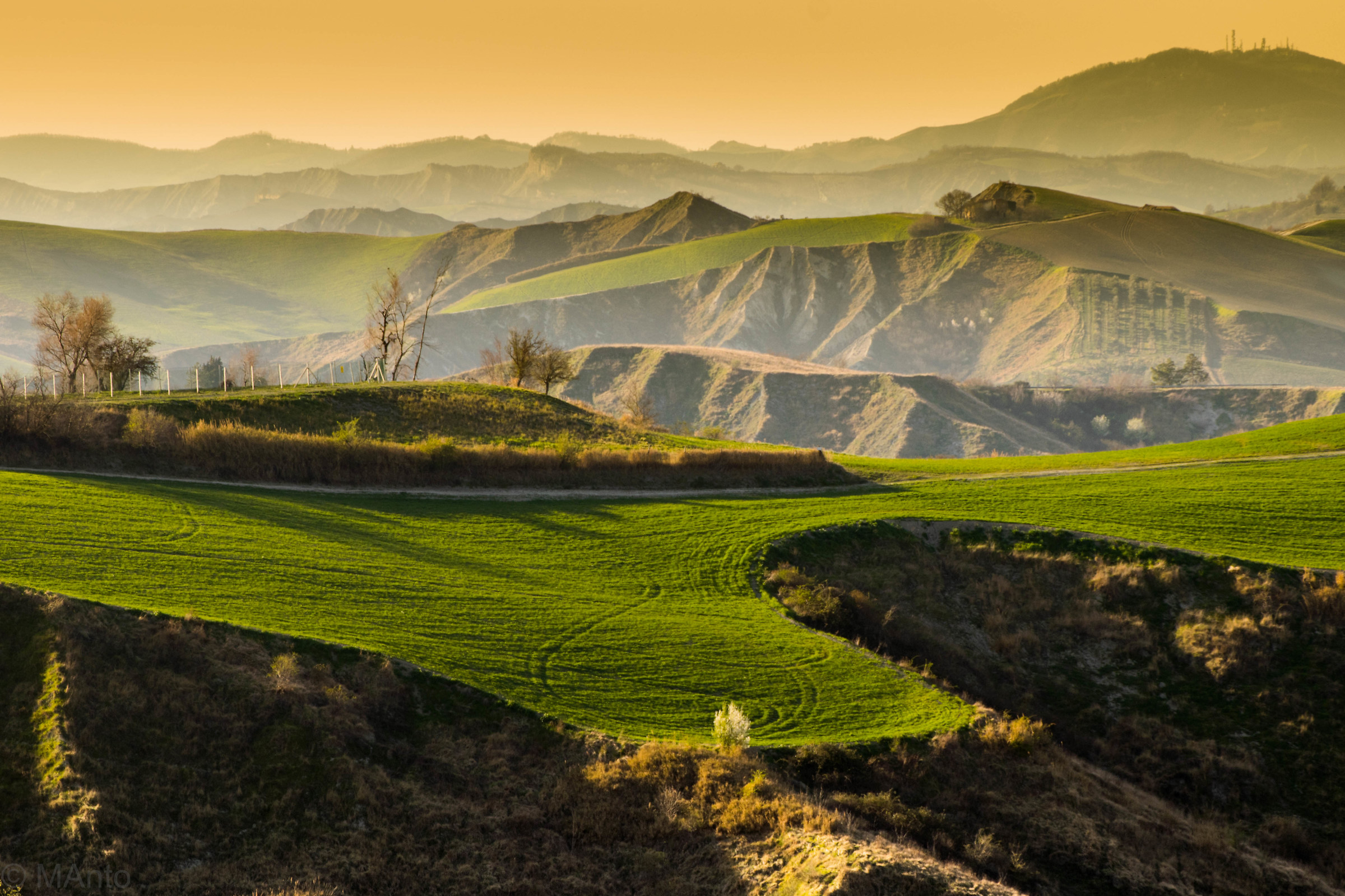 Romagna hills...