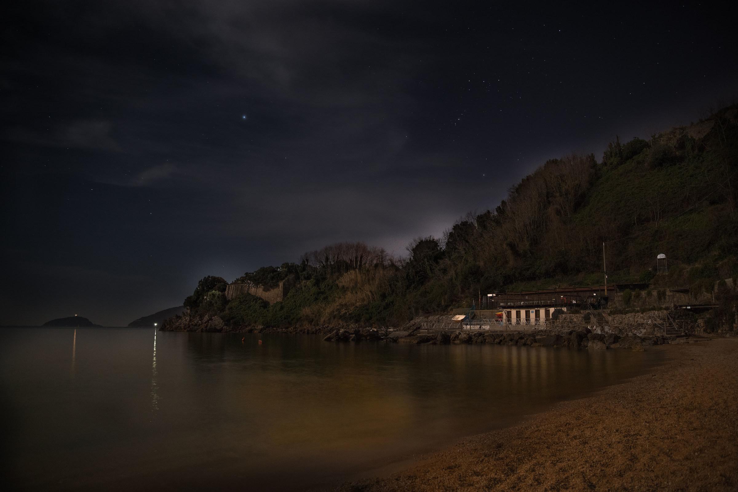 blue bay at night 1...