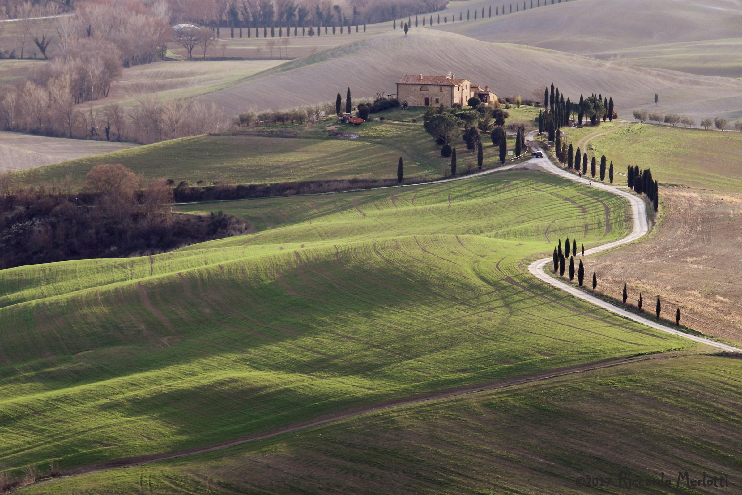 Toscana: il casolare a Pienza...