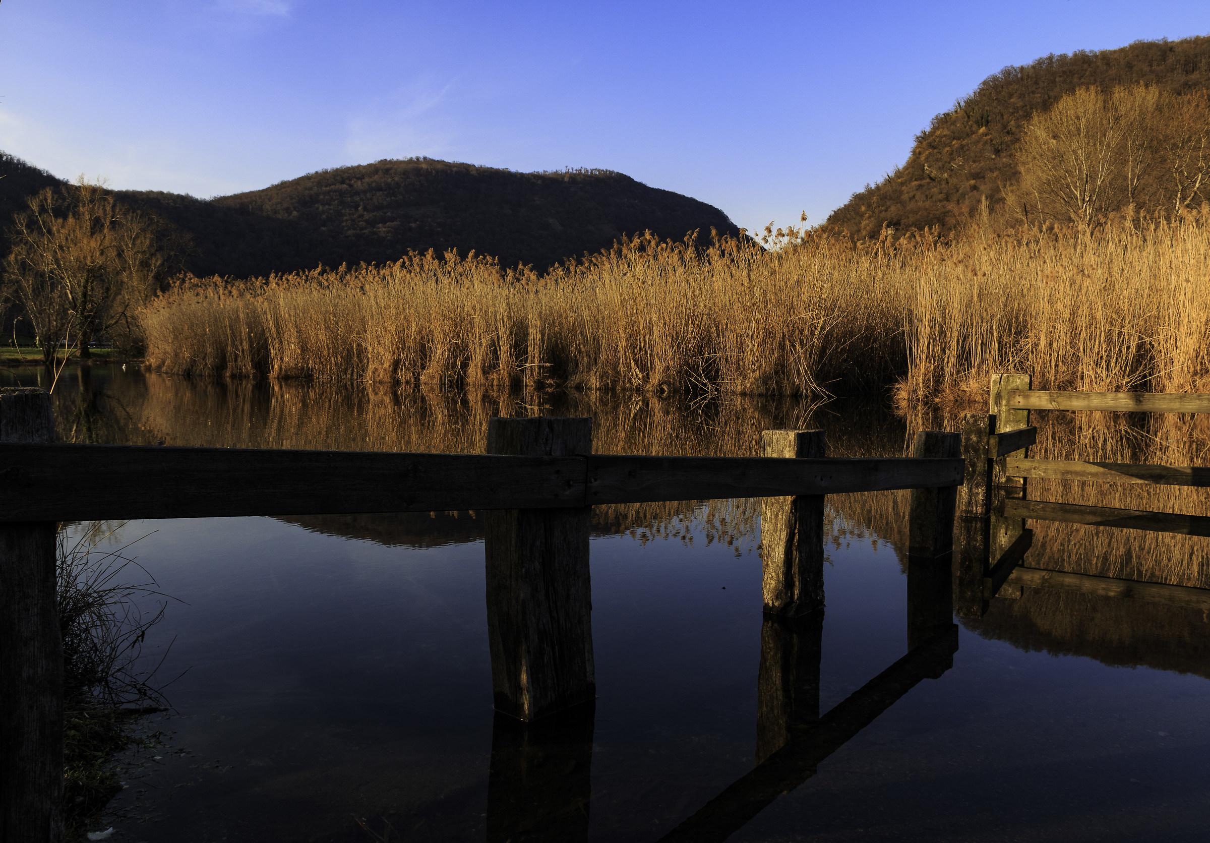 Lake Segrino...