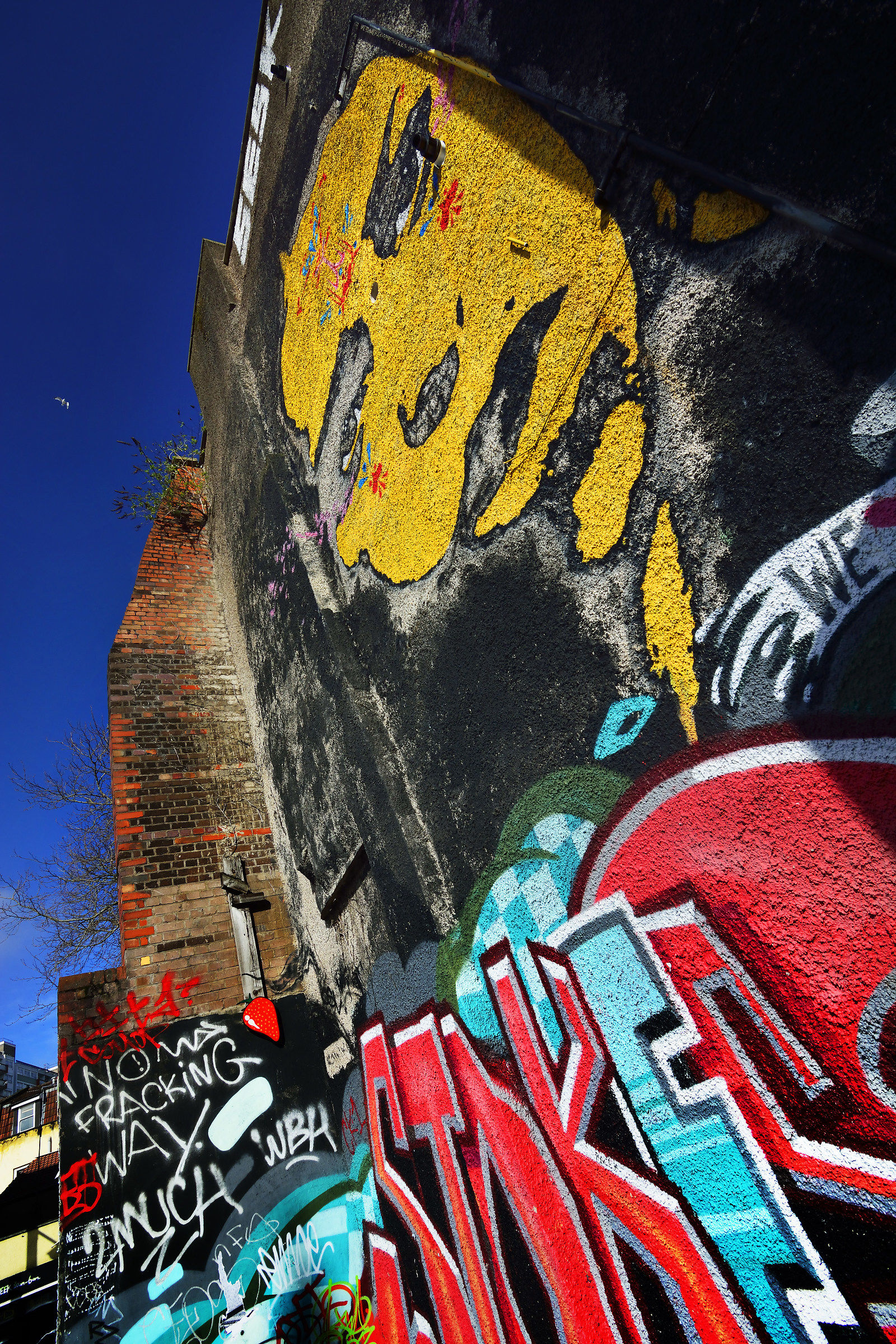 Vibrant Street Art, Multicultural Bristol...