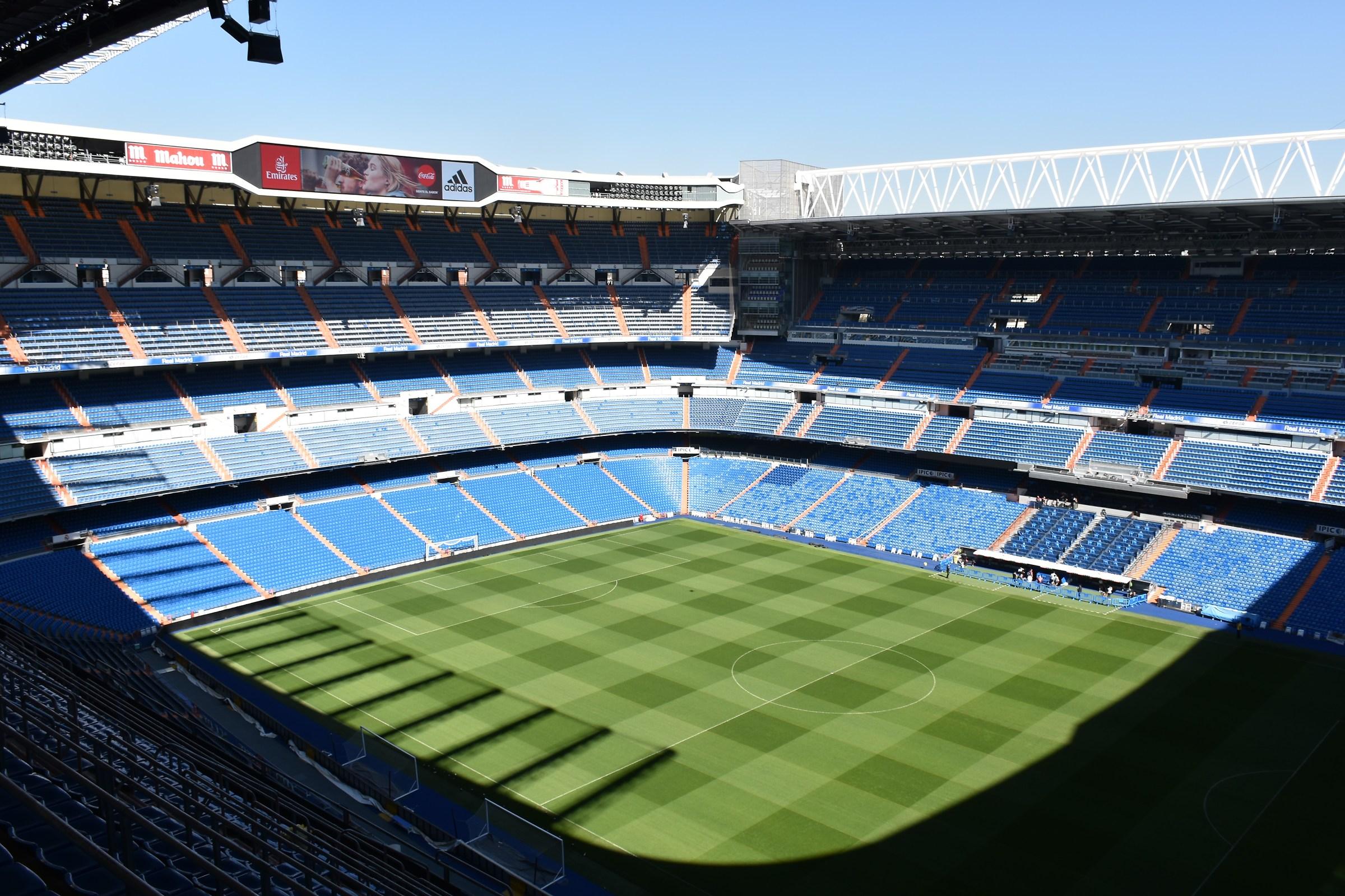 Stadium Santiago Bernabéu...