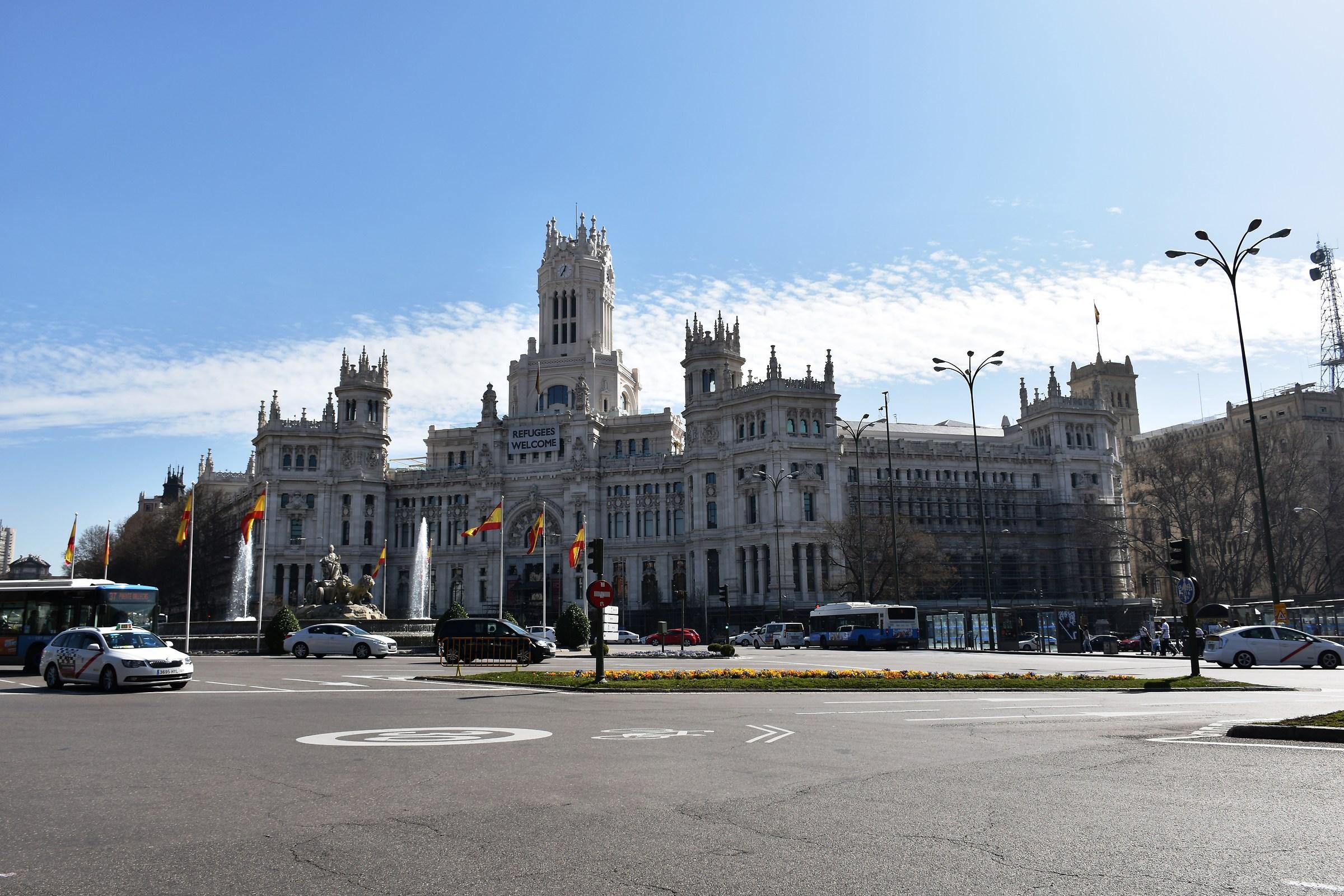 Plaza de Cibeles...