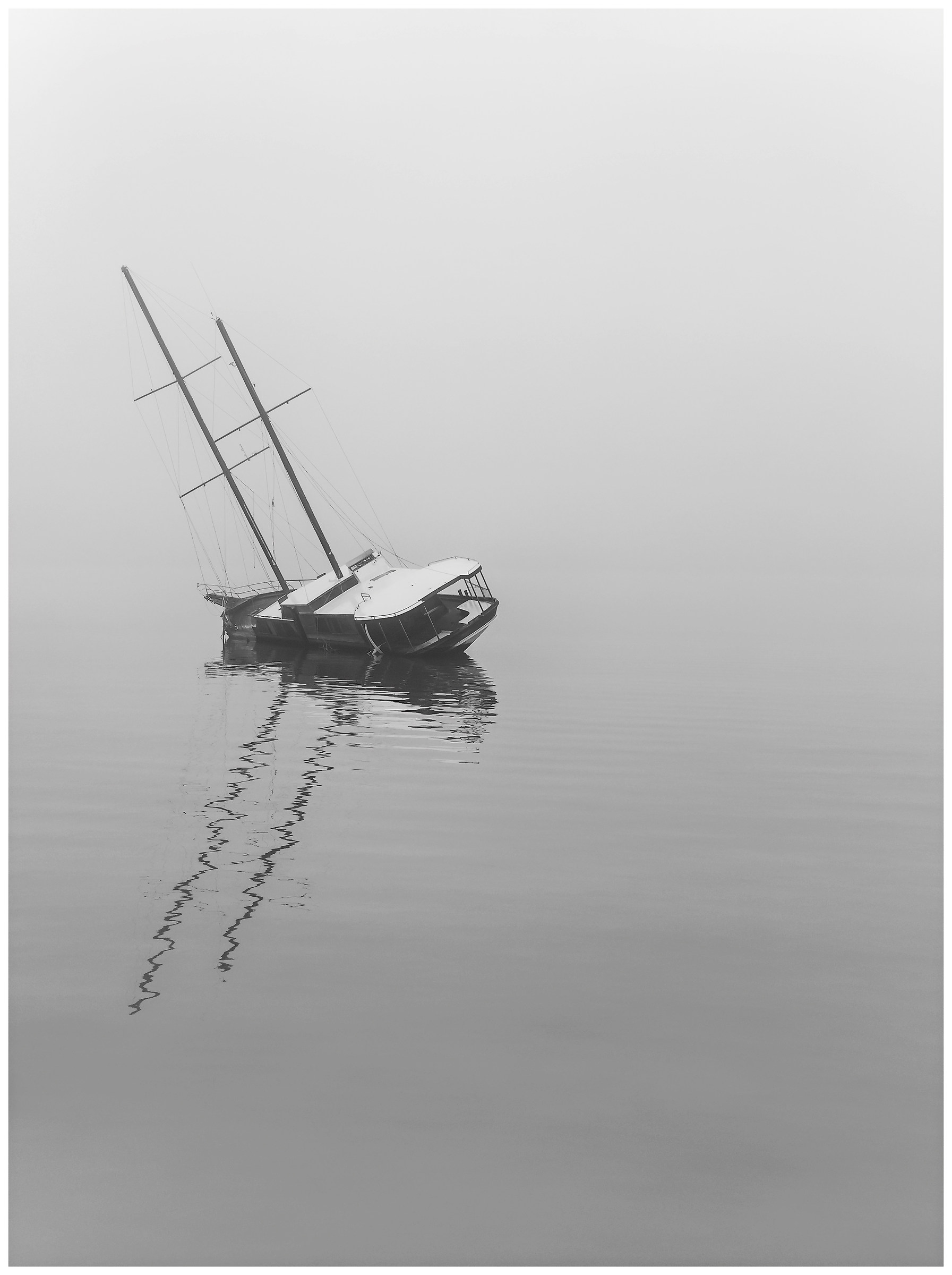 Lies and immersed in the fog!...