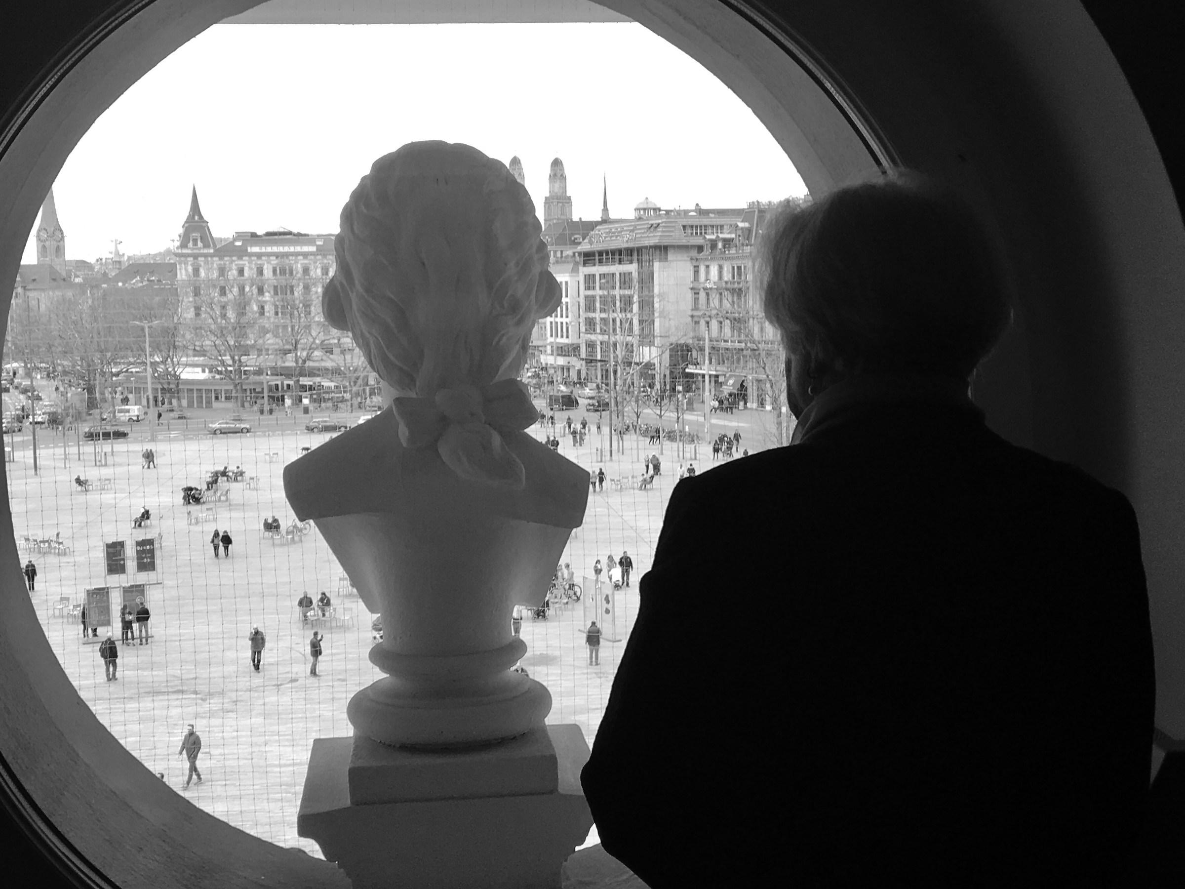 From opera window...
