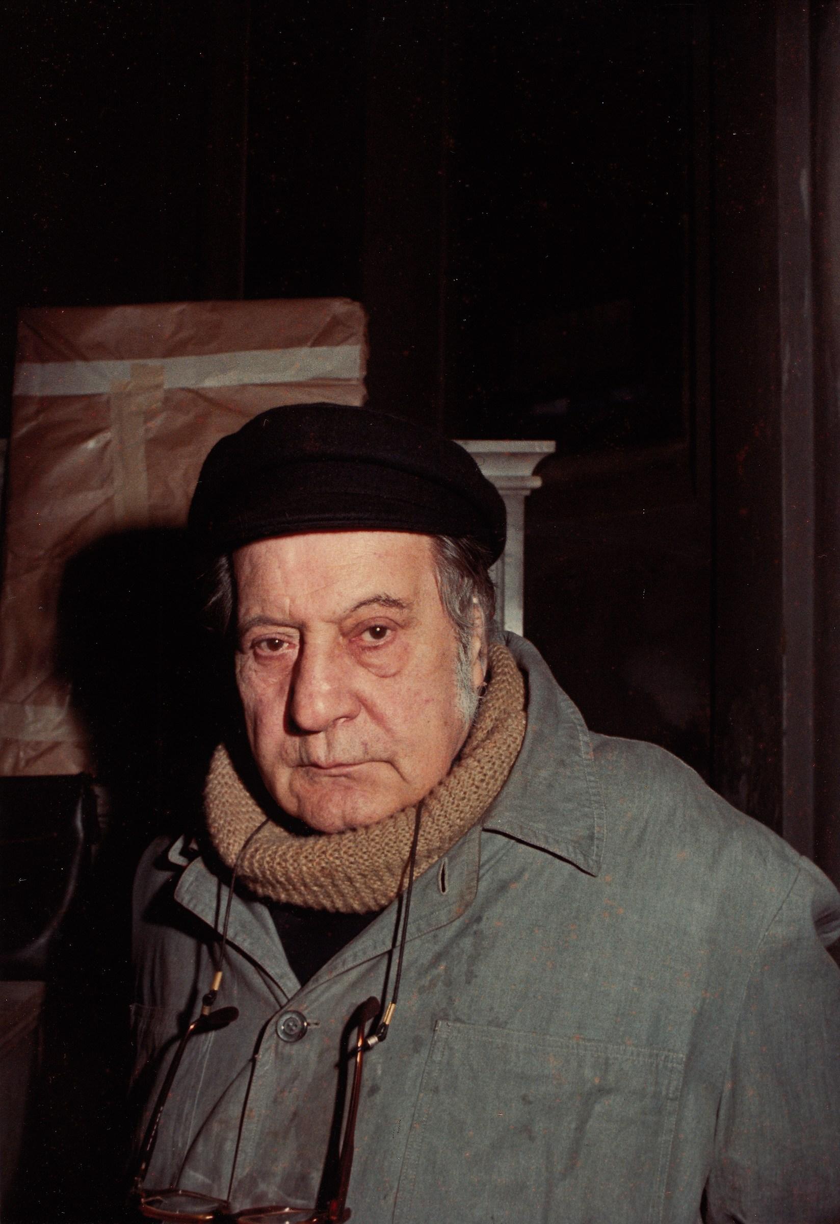 Pietro Annigoni in Mirandola, 1983...