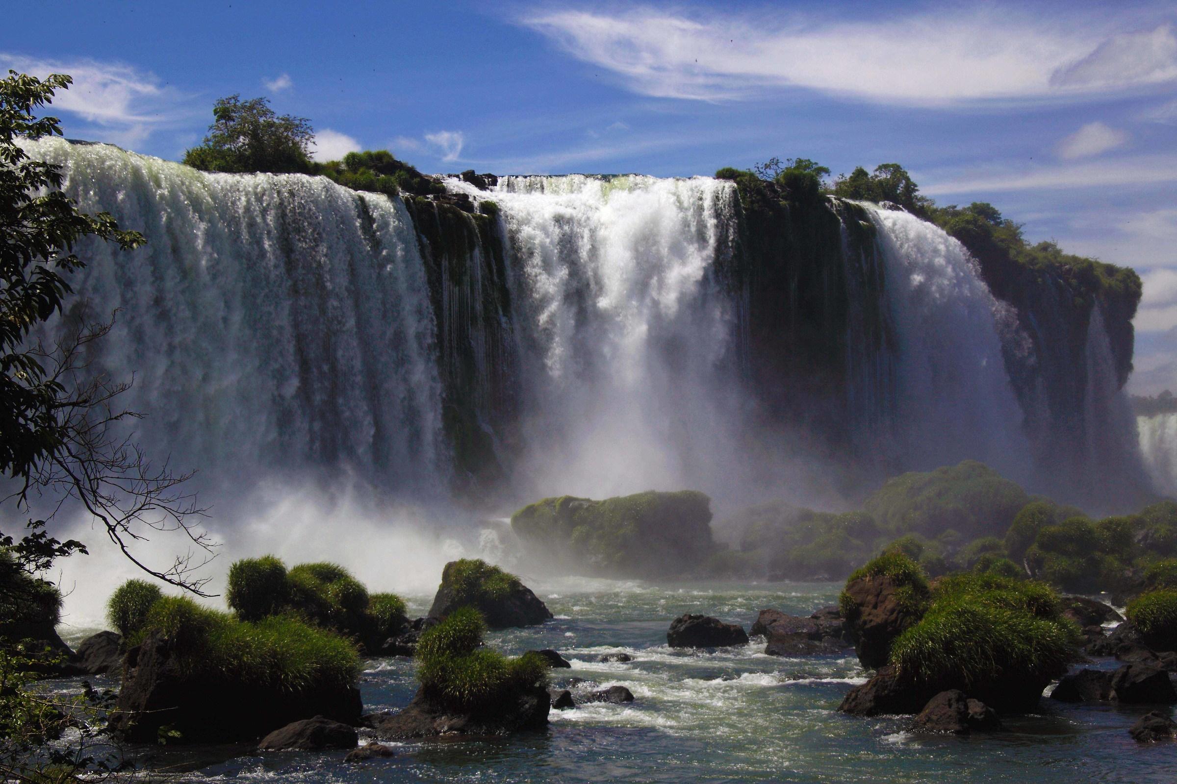 Iguacu Falls...