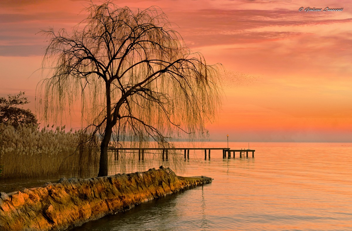 Sunset Lake Garda...