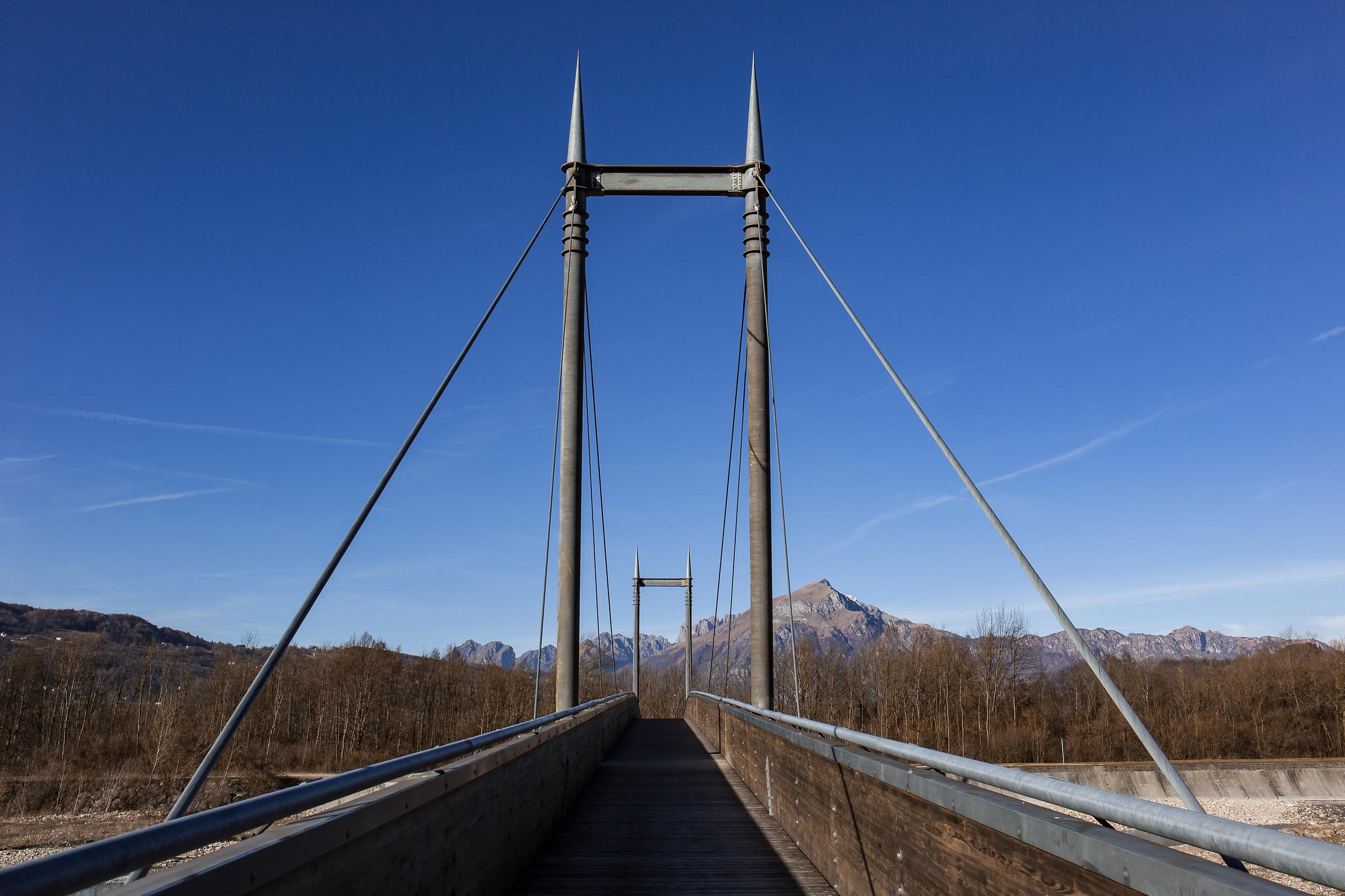 Bridge over Tesa (Farra d'Alpago - BL)...